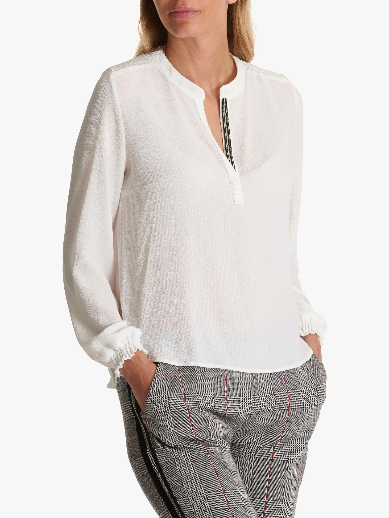 fe0d9601063f6 Betty Barclay Crepe Blouse in White - Lyst