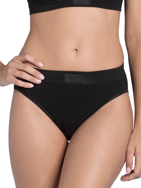 ba9e988ff737 Sloggi Double Comfort Crop Top in Black - Save 14% - Lyst