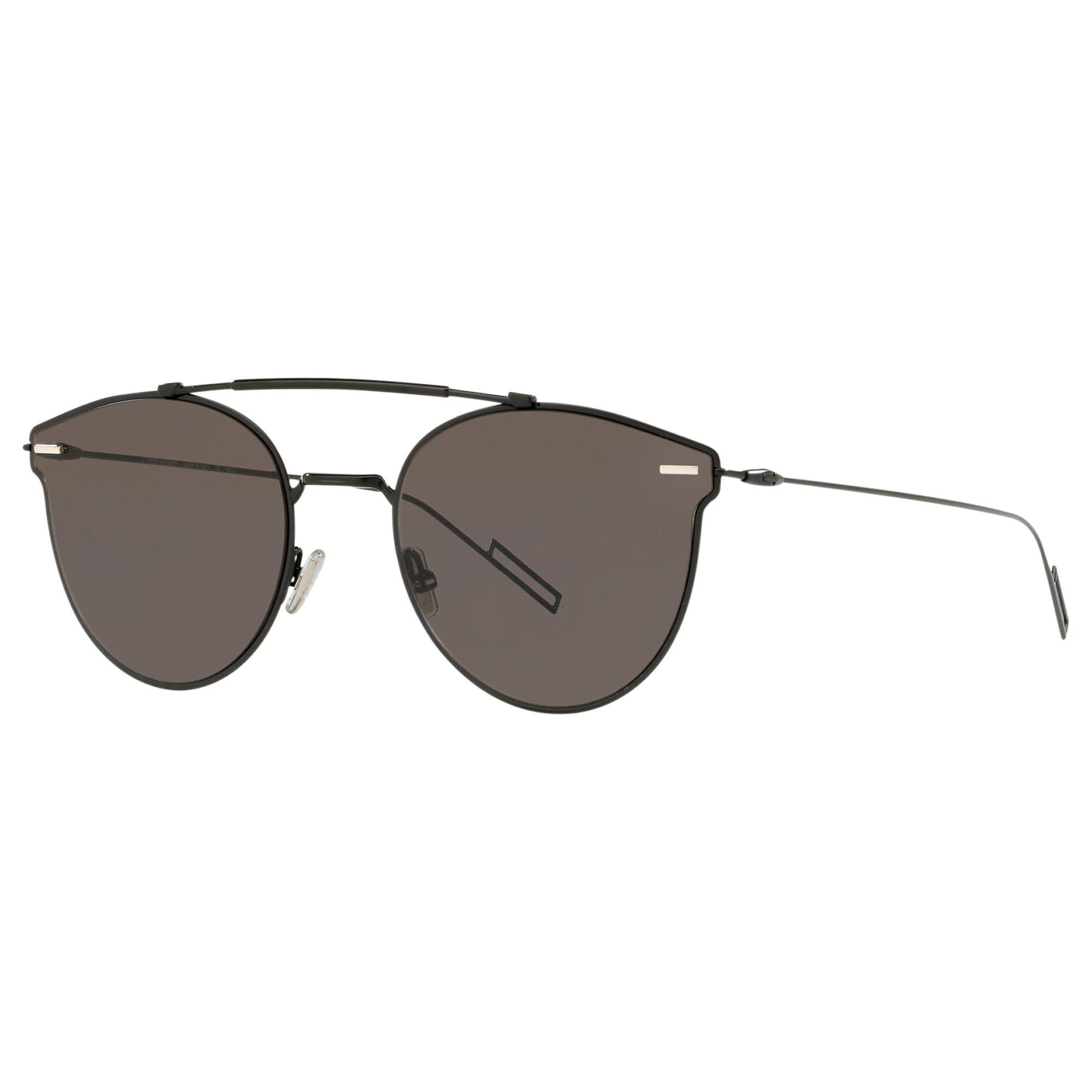 126d06e05e73 Dior. Men's Gray Pressure Oval Sunglasses. £350 From John Lewis and Partners