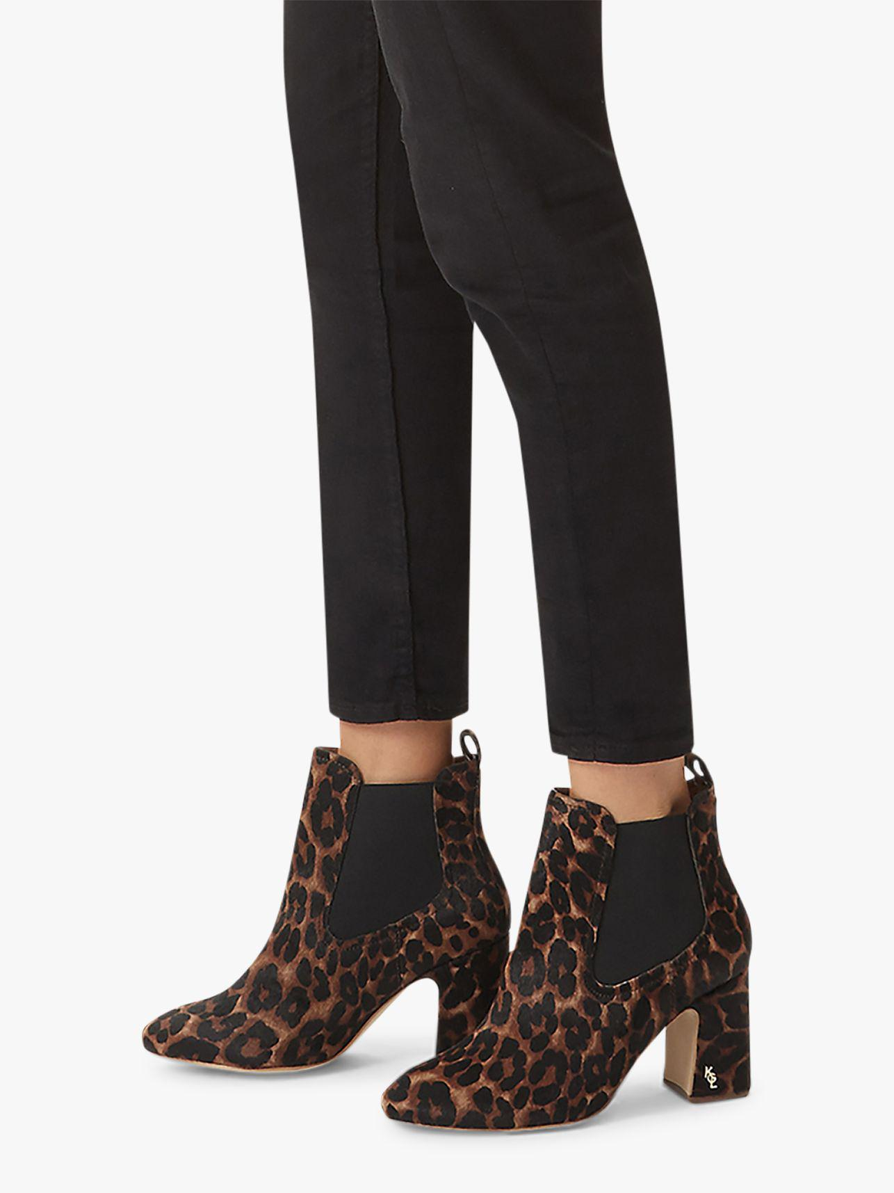 aef58408a8db Kurt Geiger Raylan Block Heeled Ankle Boots in Black - Lyst