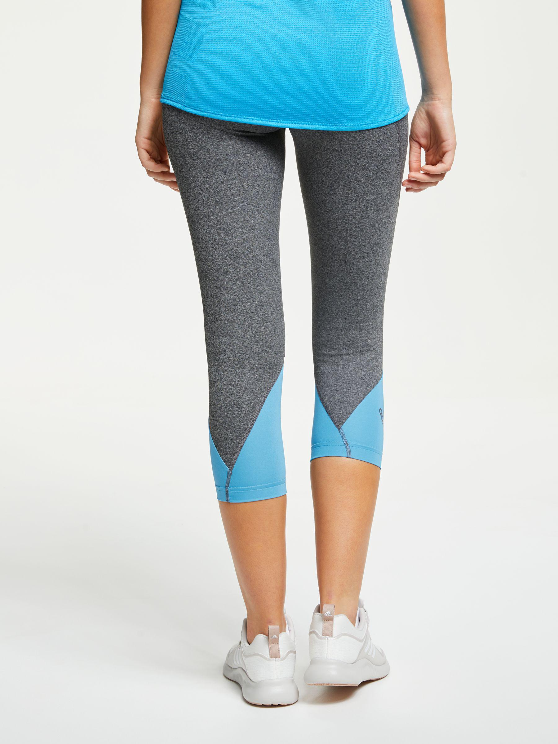 promo code dac0d 551d2 Adidas Alphaskin Sport 2.0 Embossed 34 Training Tights in Bl