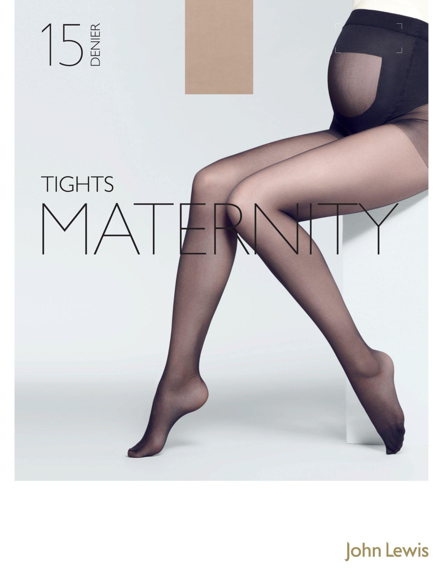 83129b48d John Lewis 15 Denier Sheer Maternity Tights - Lyst
