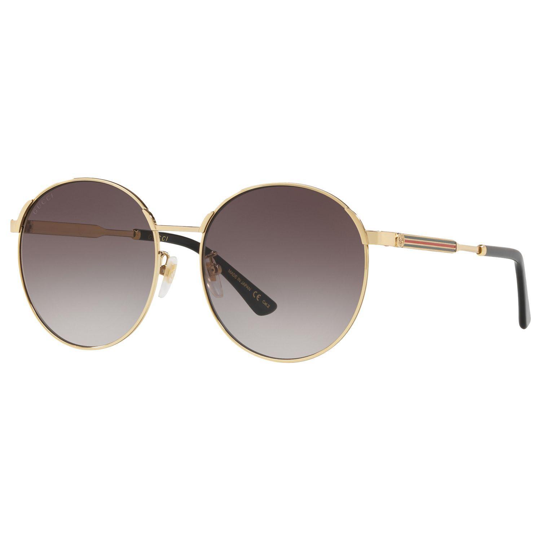 17ce86174 Gucci GG0206SK Oval Sunglasses - Lyst