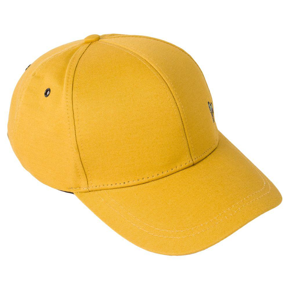 2a9972bc7e2 Paul Smith Zebra Baseball Cap in Yellow for Men - Lyst
