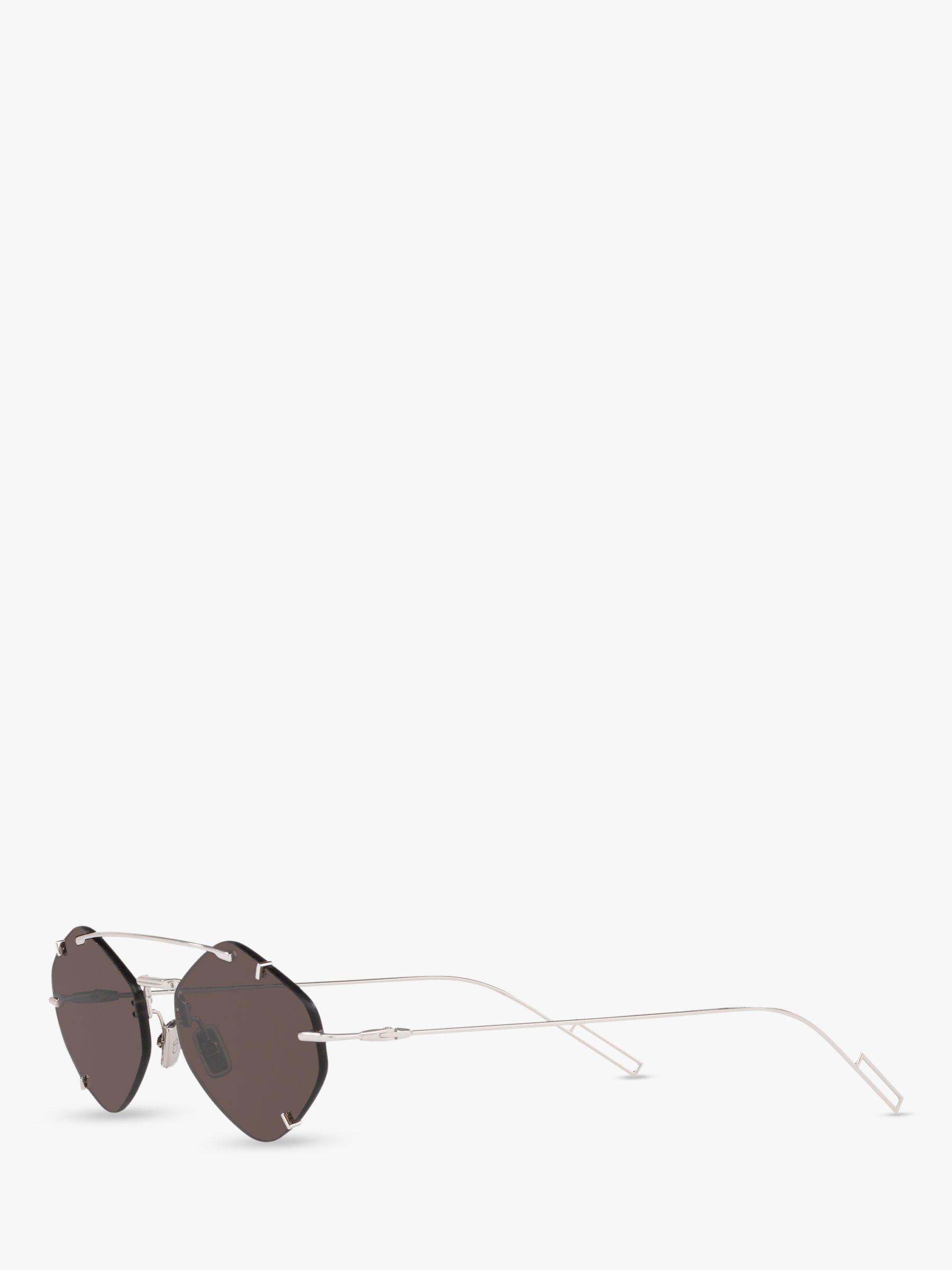03ed040e7bb Dior Inclusion Men s Asymmetric Sunglasses in Metallic for Men - Lyst