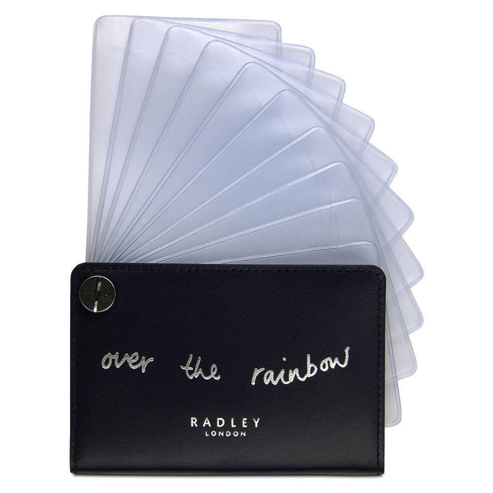 Lyst - Radley Follow Me Leather Card Holder in Blue for Men