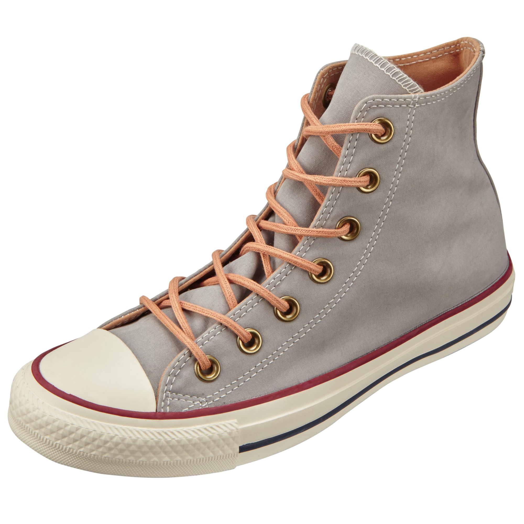 af25d97c627e Converse Chuck Taylor All Star Peached Hi Top Trainers in Gray - Lyst