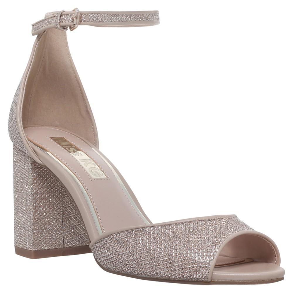 Block Heel Metallic Shoes Uk