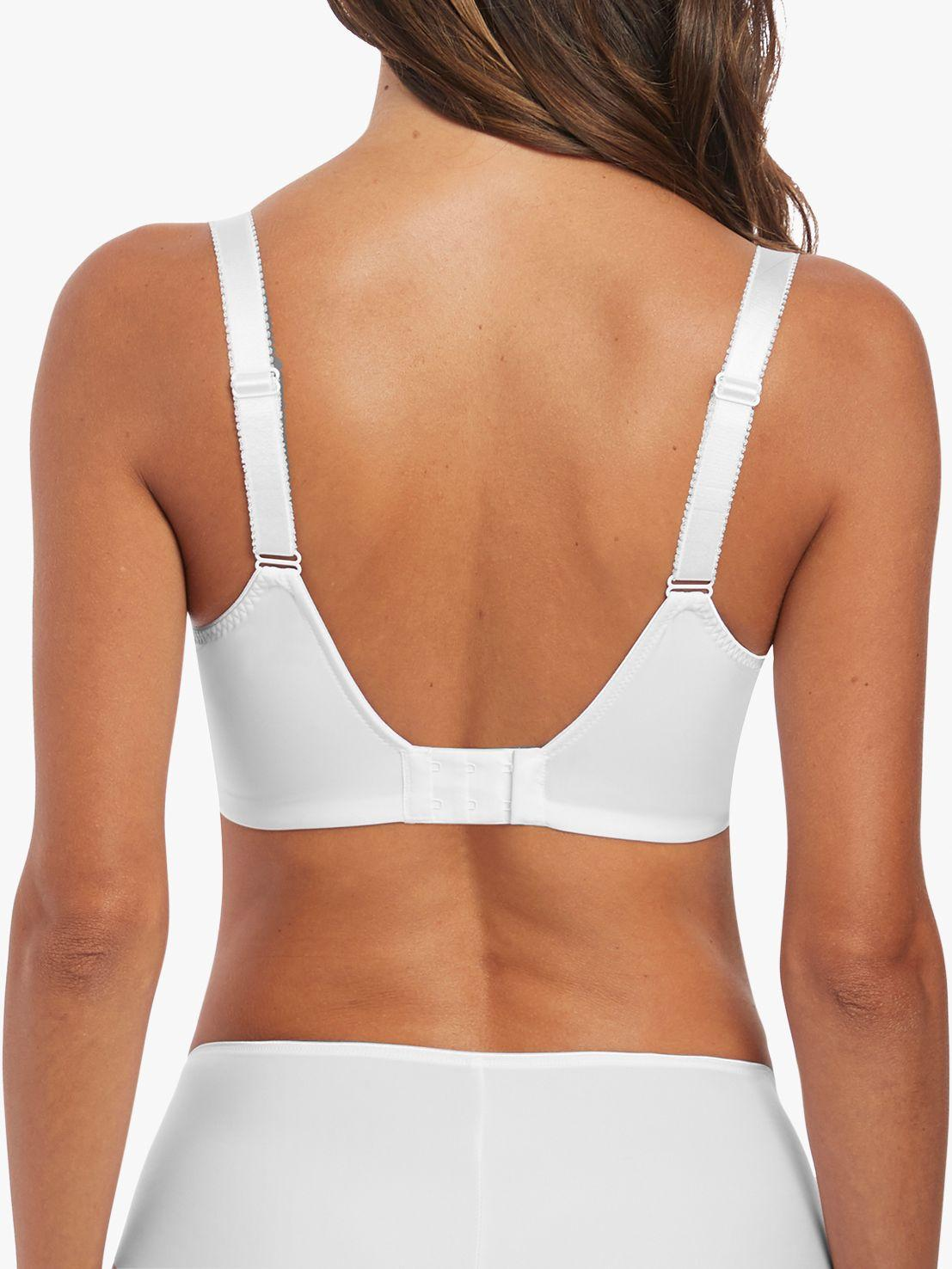 a1d41d8d45 Fantasie Illusion Underwired Side Support Balcony Bra in White - Lyst
