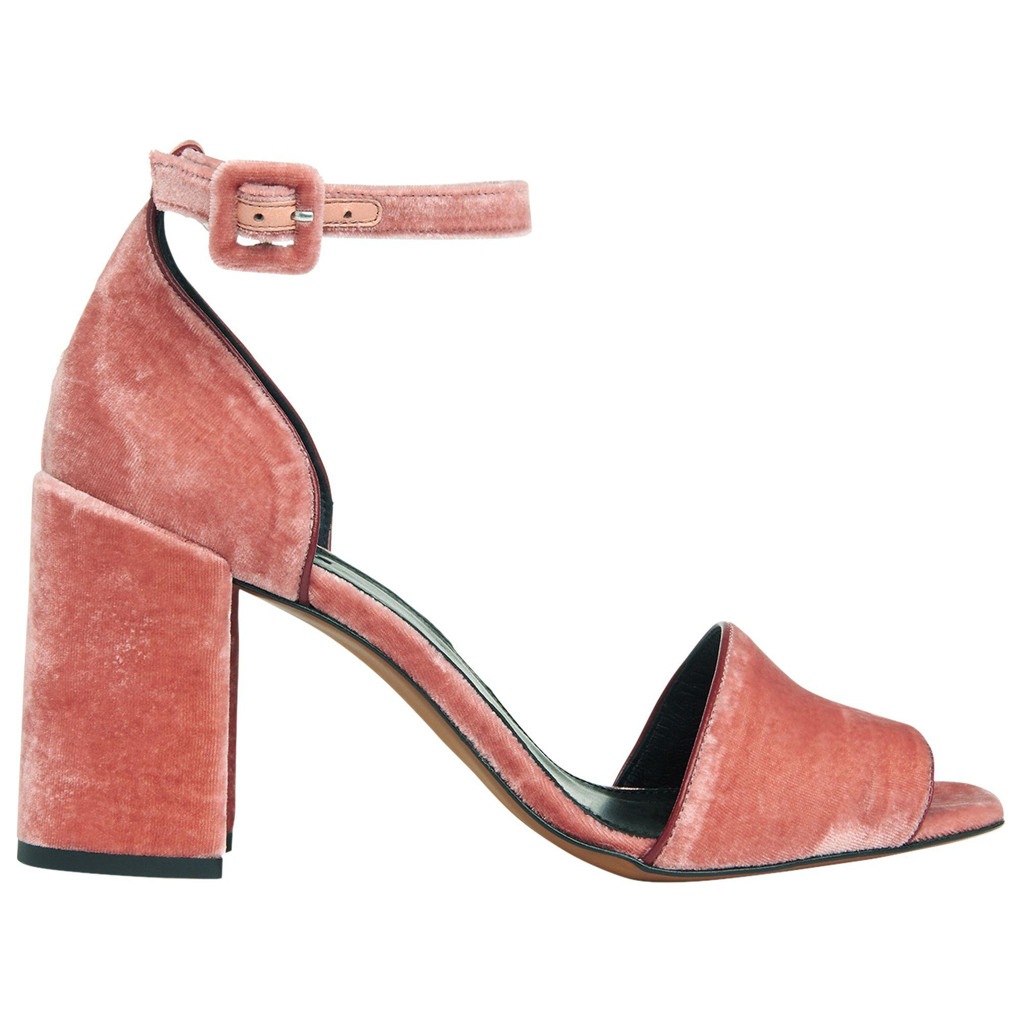 543186e0c65f Whistles. Women s Pink Hedda Velvet Block Heeled Sandals. £169 £69 From John  Lewis and Partners