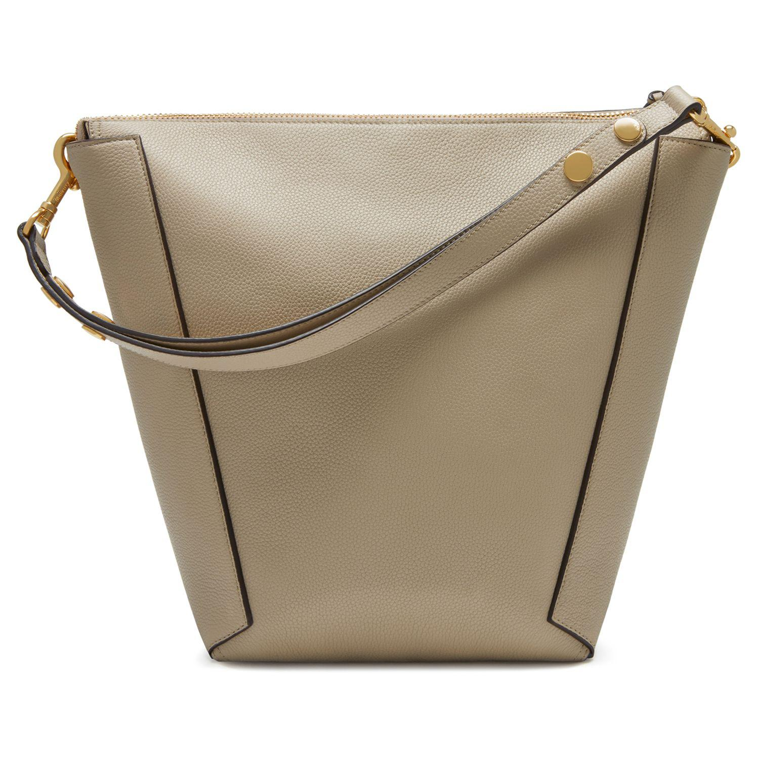 John Lewis Mulberry Camden Classic Grain Leather Hobo Bag in Natural ... 50a104c6a3d76