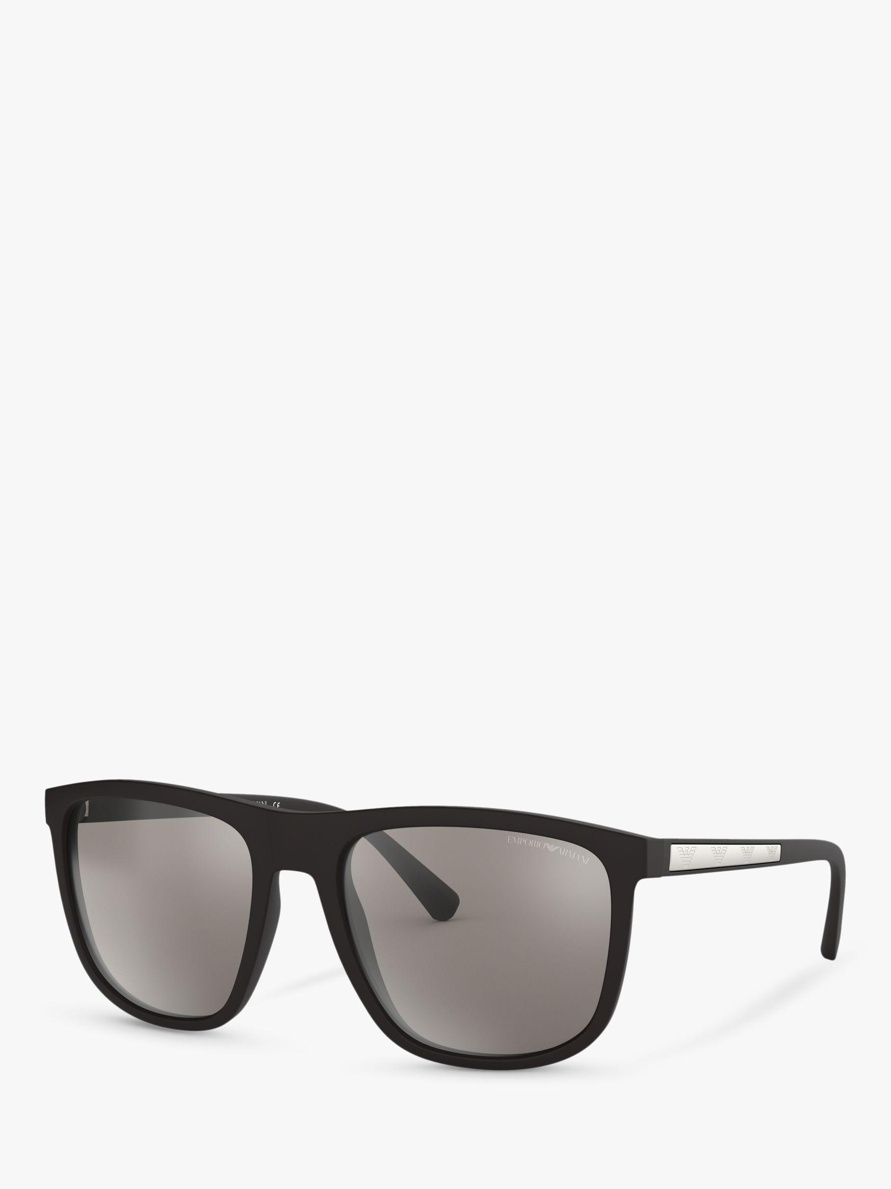 b90b786961fda Emporio Armani Ea4123 Men s Square Sunglasses in Black for Men - Lyst