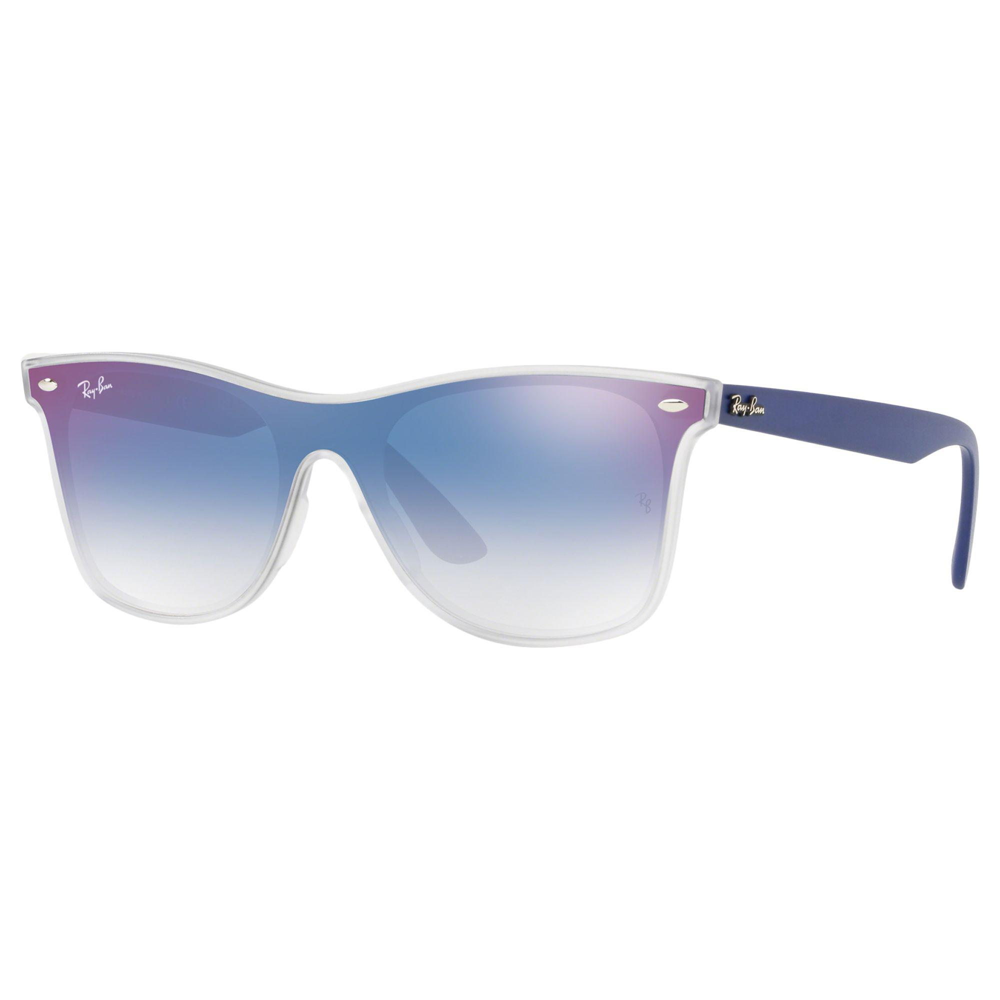 10528caf328 Ray-Ban Rb4440 Unisex Polarised Mirrored Sunglasses in Blue - Lyst