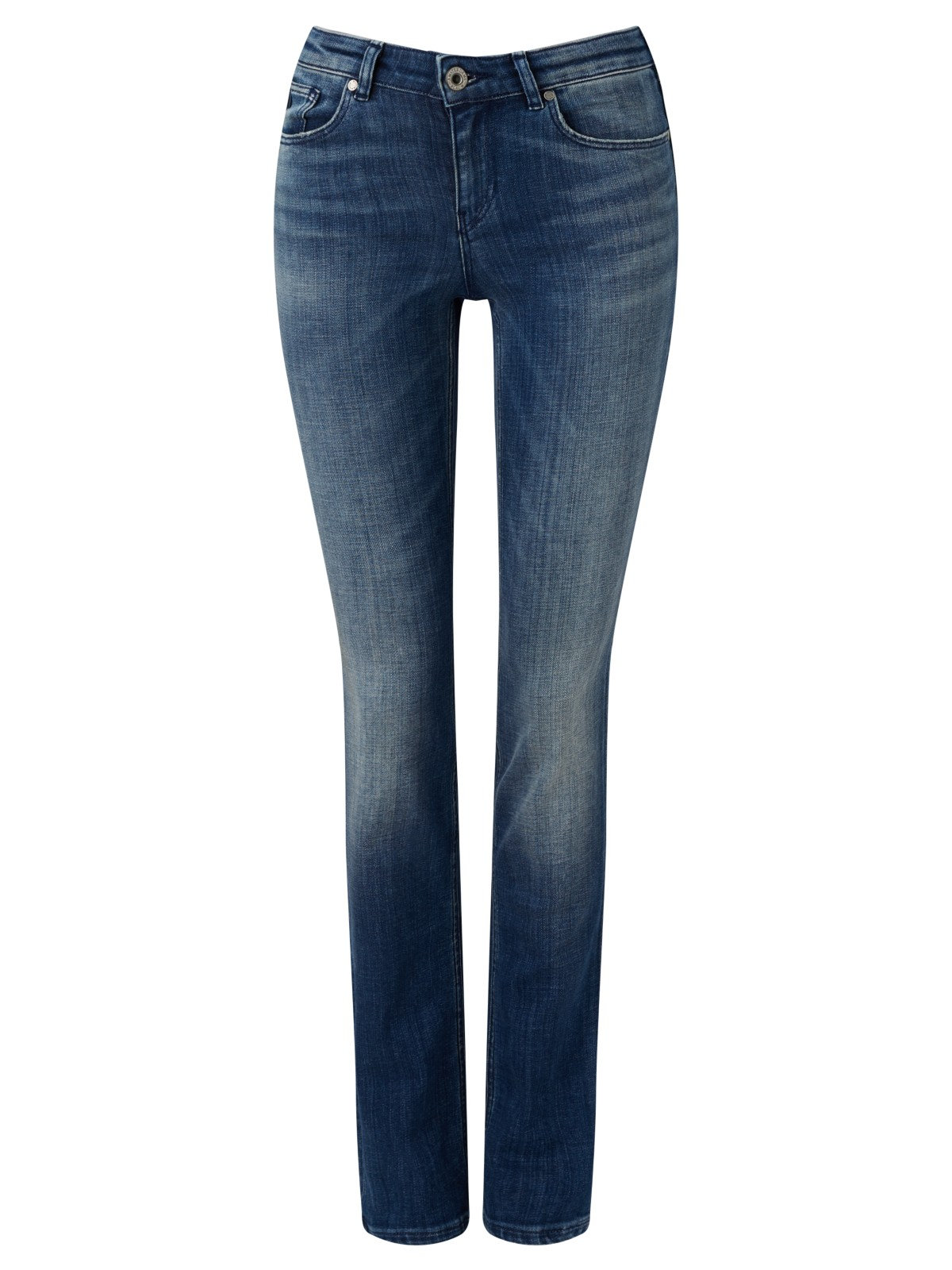 maison scotch supreme mid rise straight jeans in blue lyst. Black Bedroom Furniture Sets. Home Design Ideas
