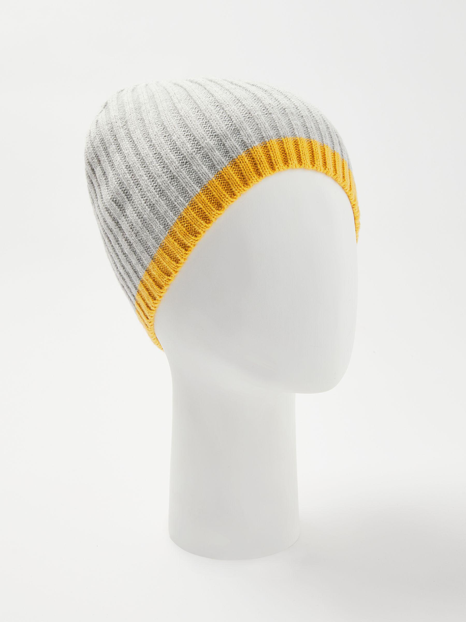 fac3ba43c79 John Lewis Tipped Beanie Hat in Gray - Lyst
