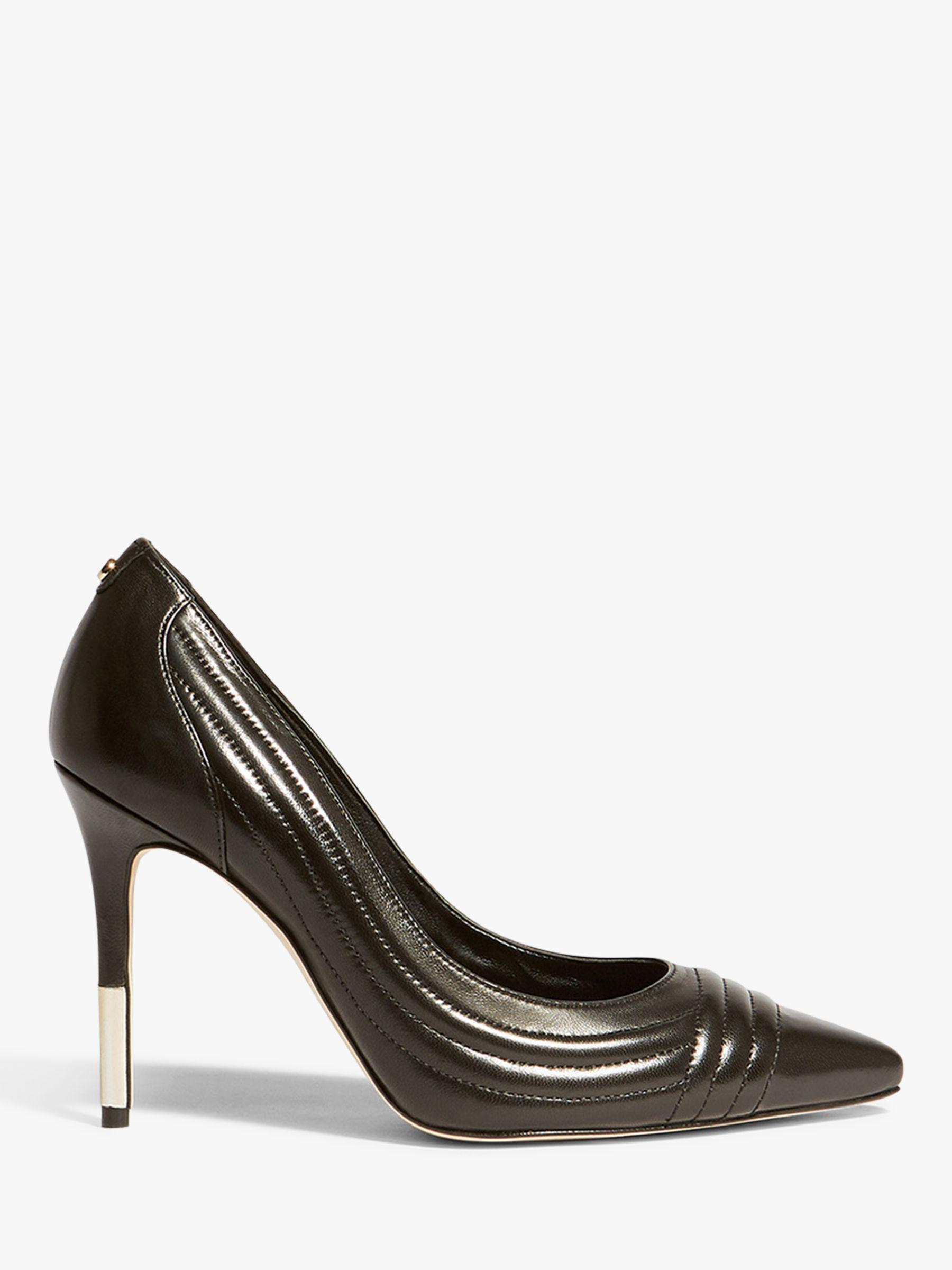 75333f2c24a Karen Millen Tipped High Heel Court Shoes in Black - Save 40% - Lyst
