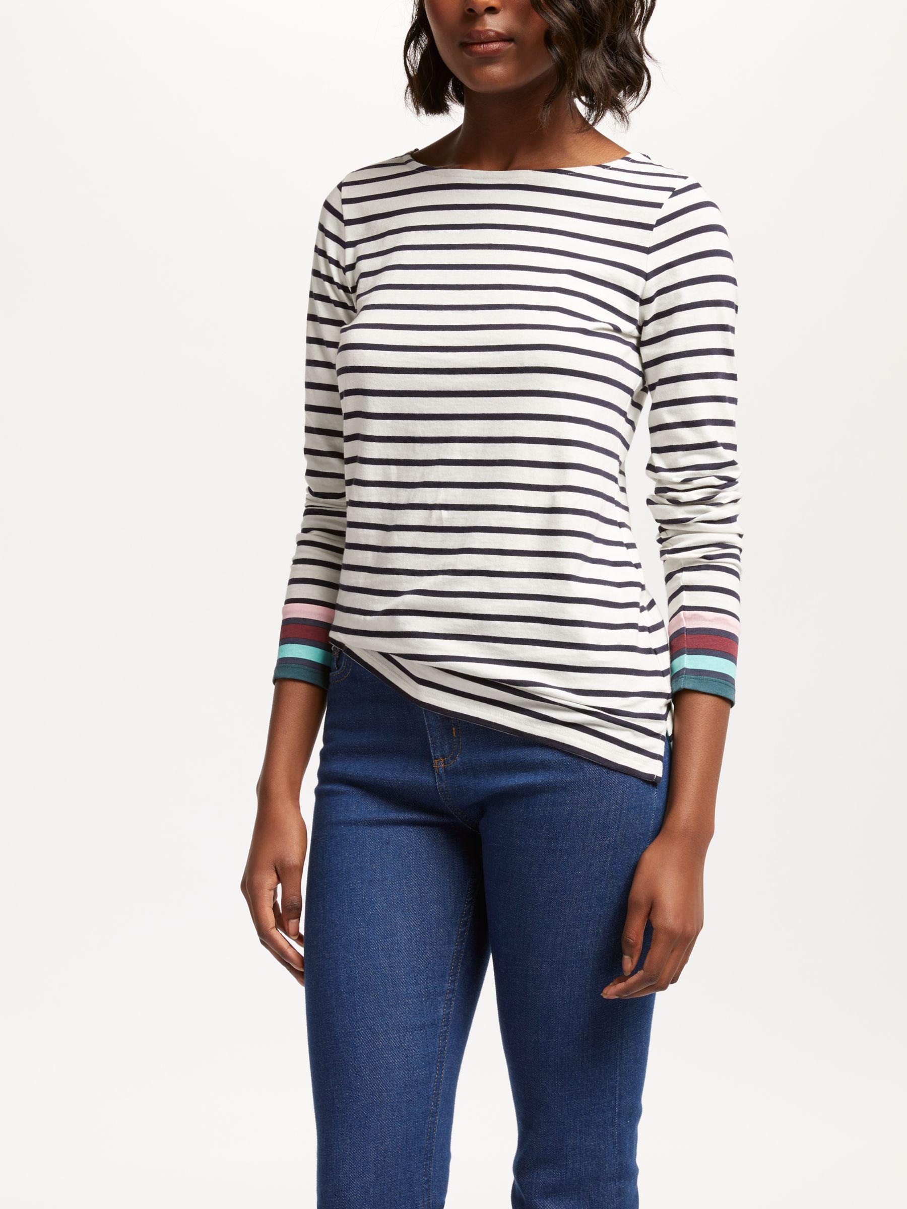 5b96a80b14 Boden. Women's Long Sleeve Breton Top