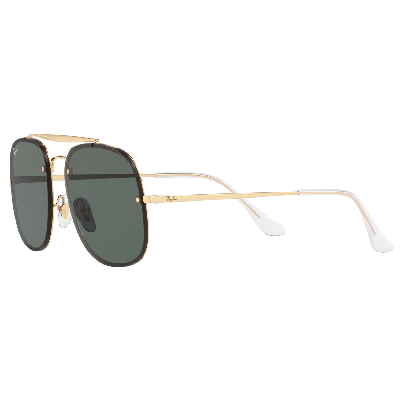 22b8e34aed Ray-Ban - Green Rb3583 Unisex Square Polarised Sunglasses for Men - Lyst.  View fullscreen
