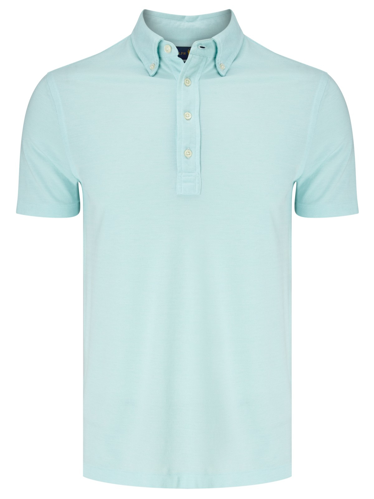 Pink pony polo oxford polo shirt in teal for men for Mens teal polo shirt