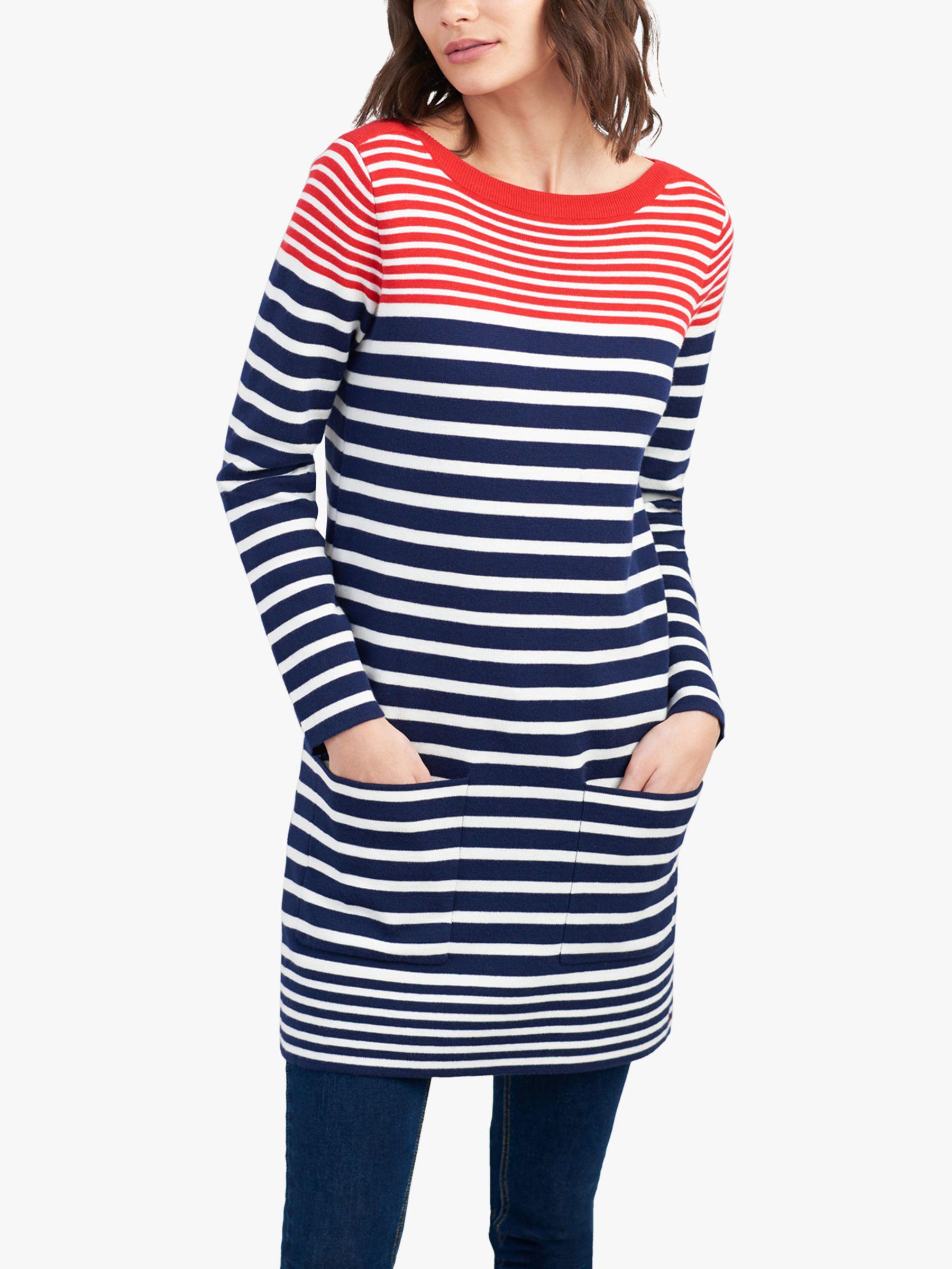 bc9d2960116cca Joules Freida Stripe Tunic in Blue - Lyst