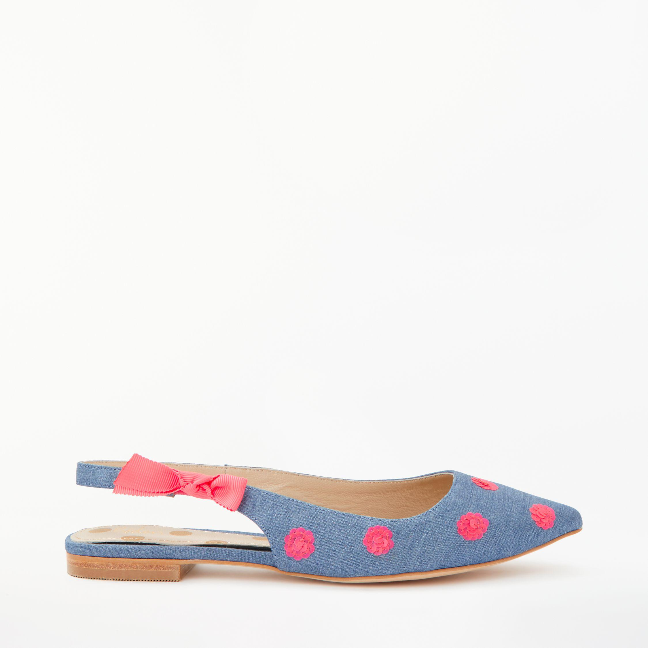 a091d4fb8a4 Boden Hilary Slingback Pumps in Blue - Lyst