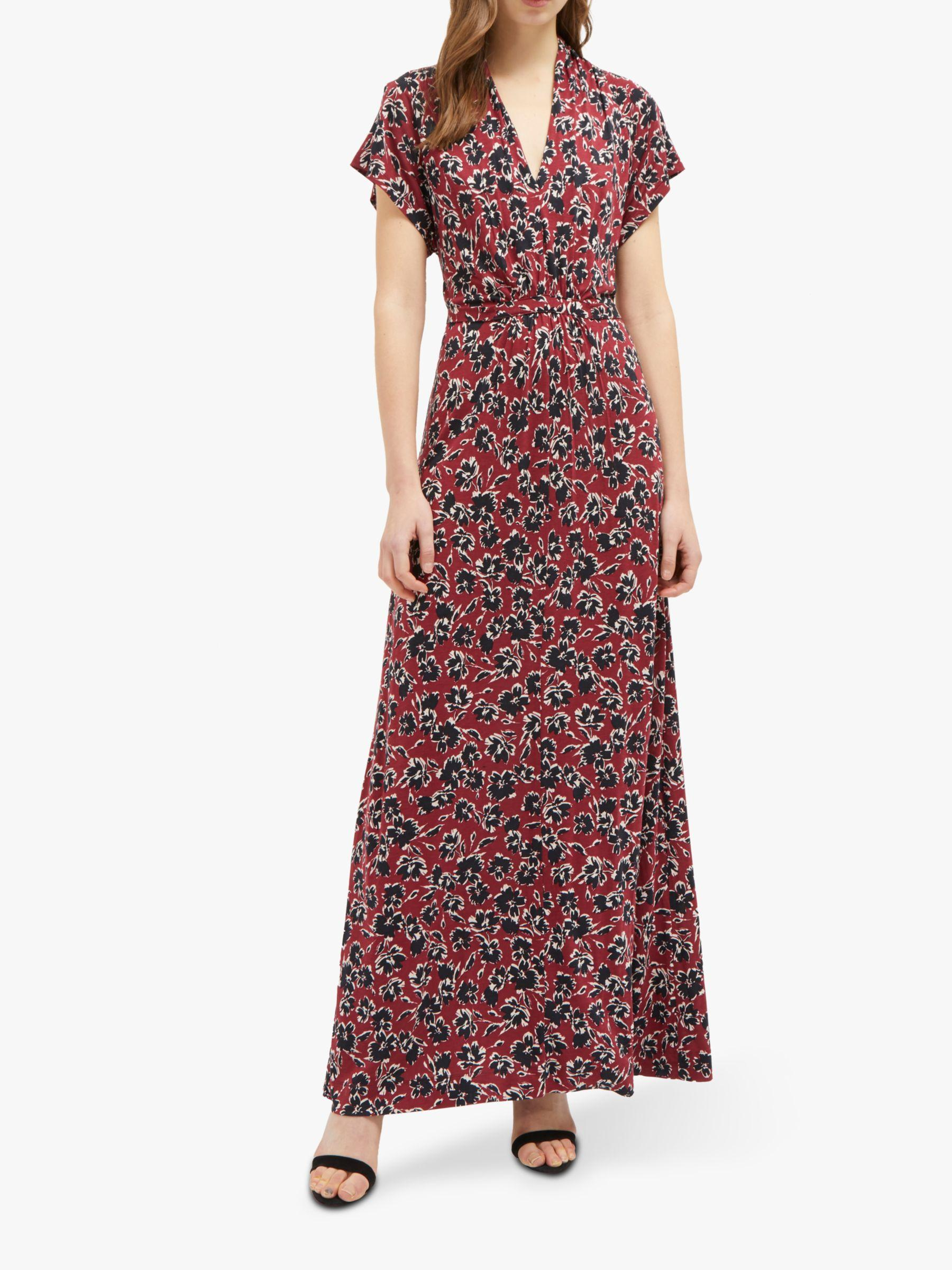 55ec65f245a French Connection Aubi Meadow Maxi Dress in Red - Lyst