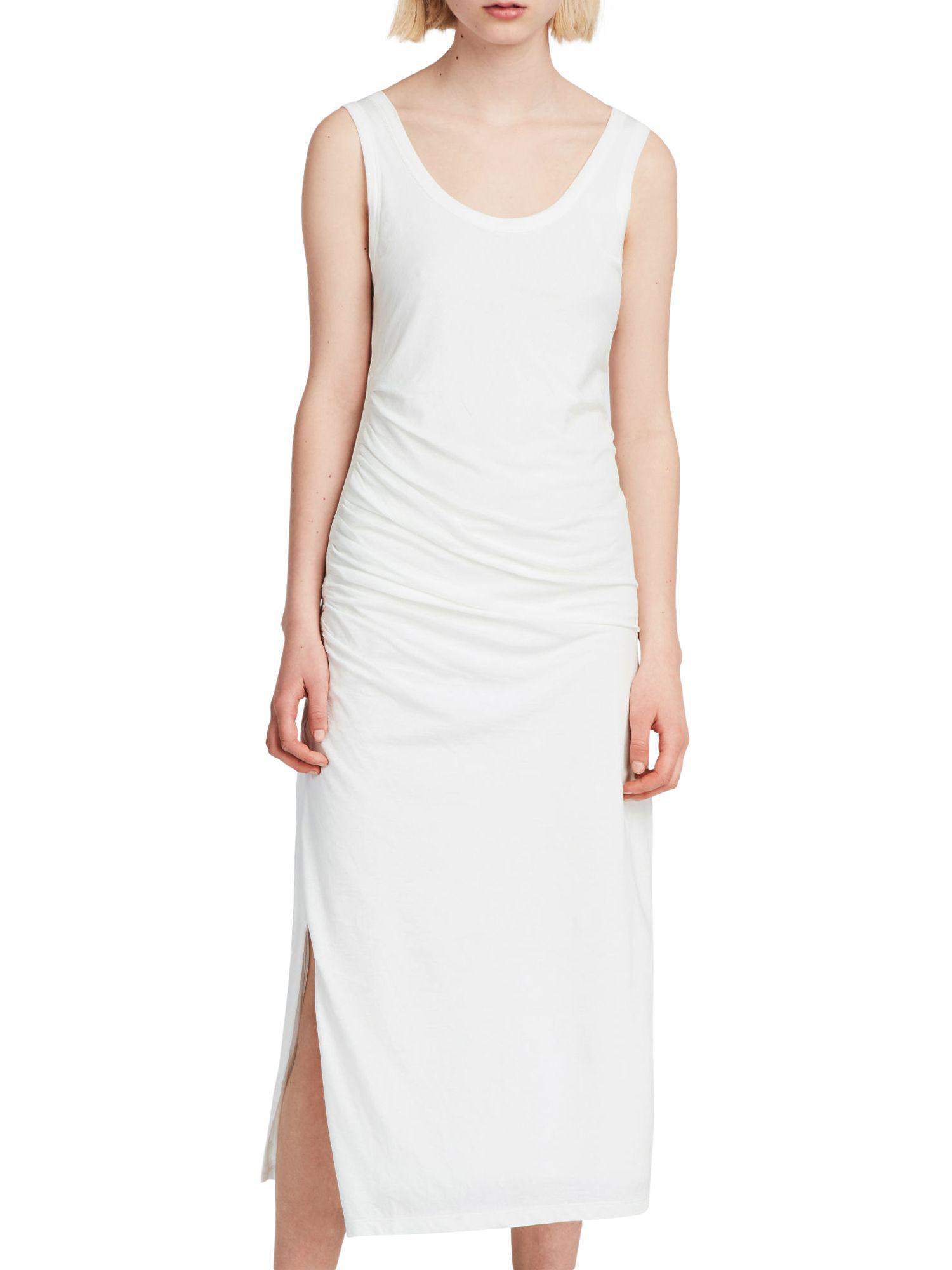 8aa4e8edec AllSaints Tina Dress in White - Lyst