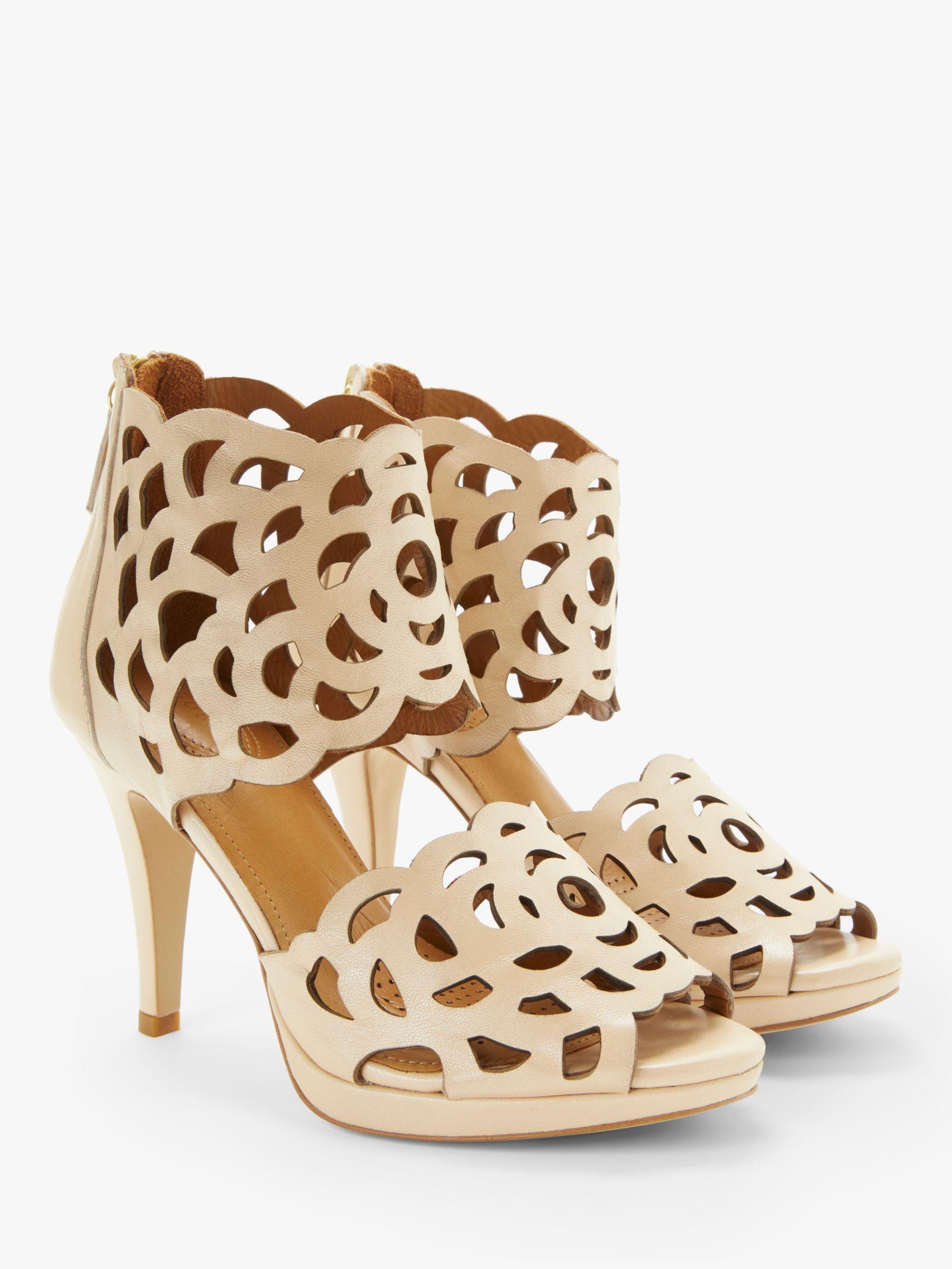 3a6a835cb168 SARGOSSA - Natural Inspire Heeled Sandals - Lyst. View fullscreen