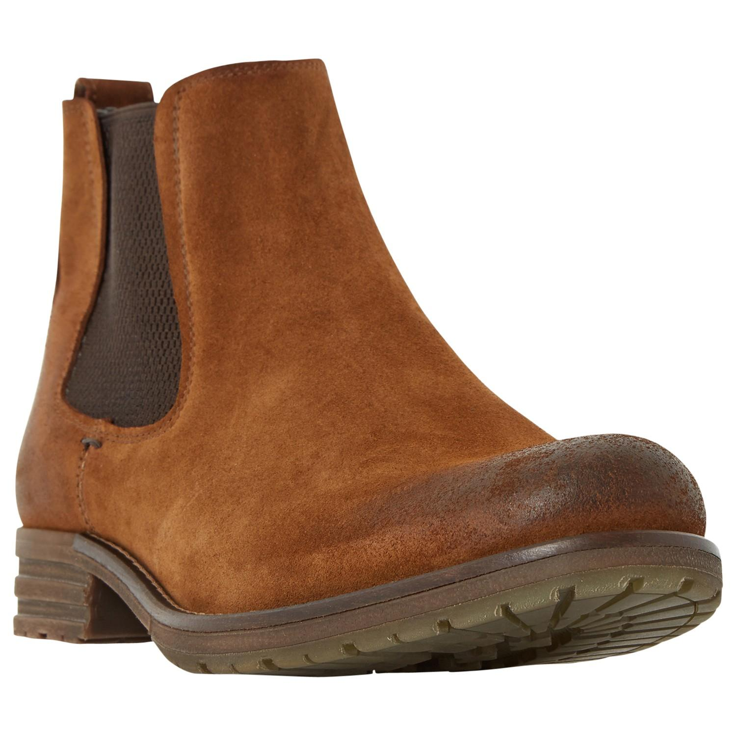 Dune Crusher Rugged Chelsea Boots For Men Lyst