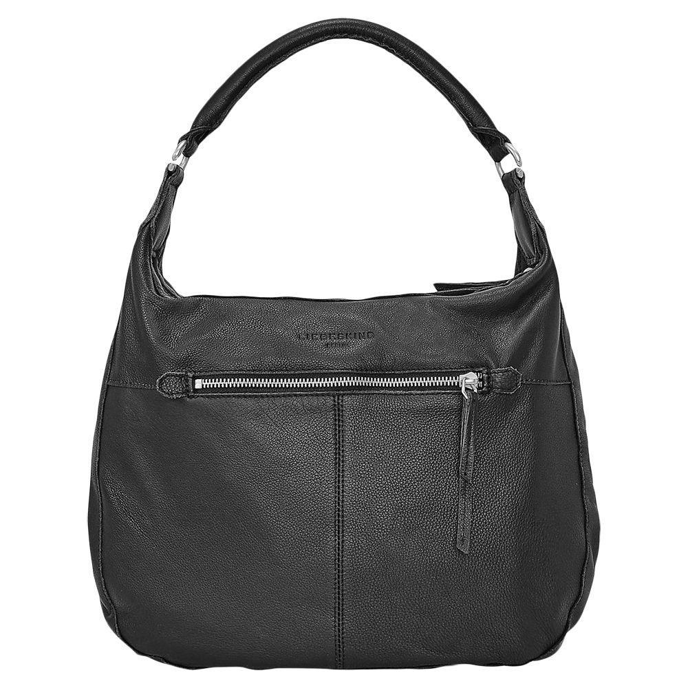 db1601e799 Liebeskind Berlin Pazia 6 Leather Vintage Shoulder Bag in Black - Lyst