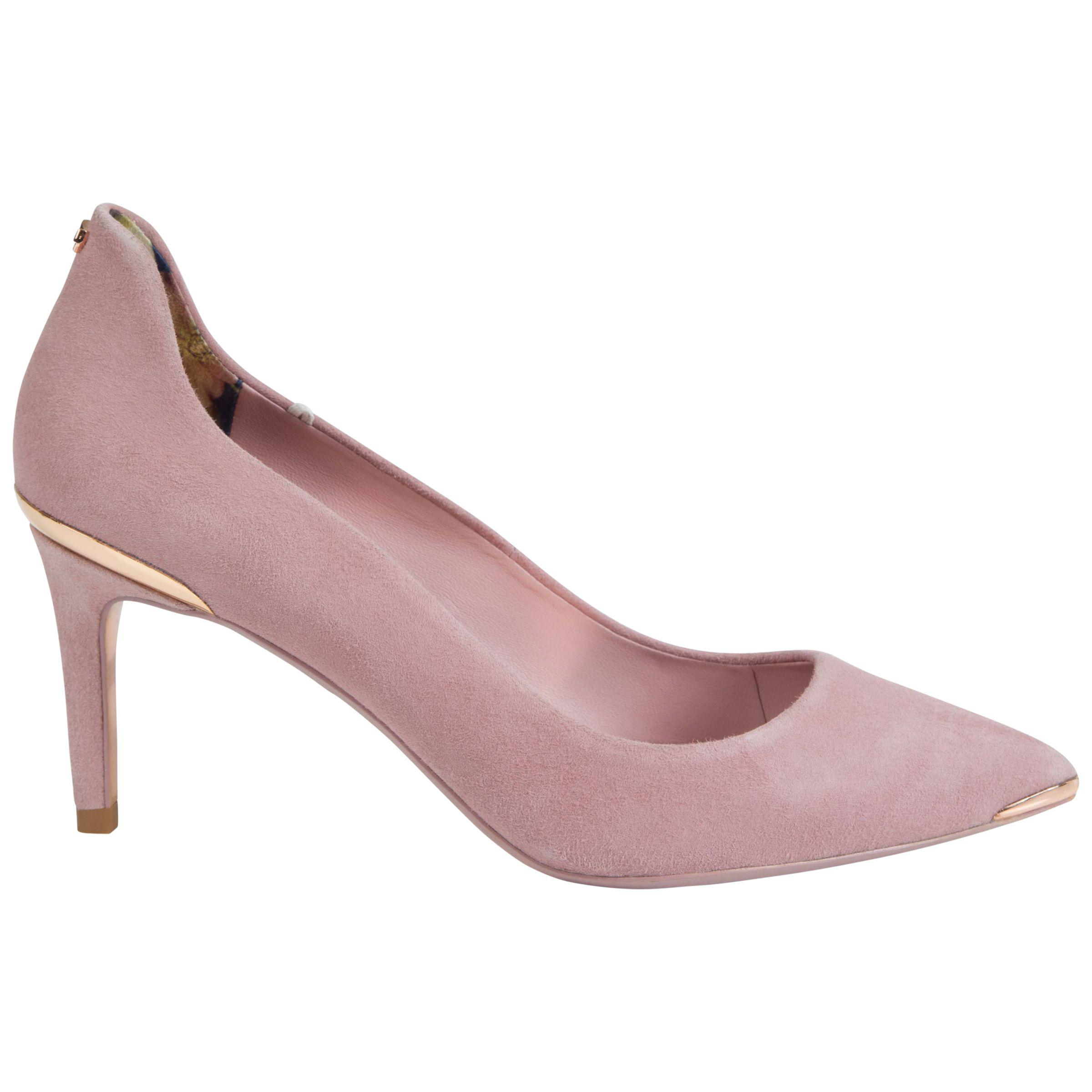 f4377cce8 Ted Baker Vyixyns Suede Court Shoes in Pink - Lyst