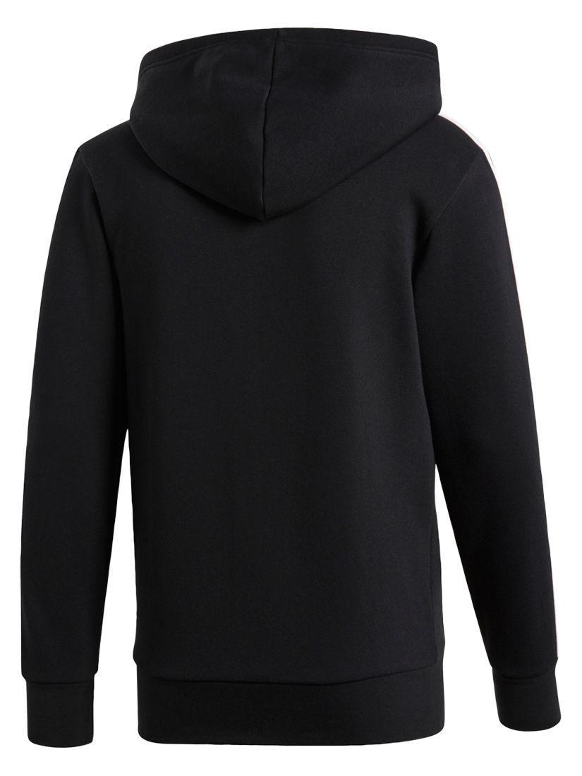 lyst john lewis adidas essentials 3 streifen pullover in schwarz für männer