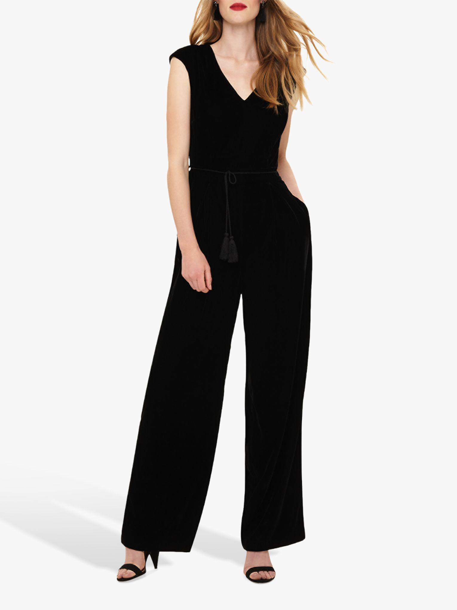 cf876c11a30 Phase Eight Adelaide Tassel Jumpsuit in Black - Save 16% - Lyst