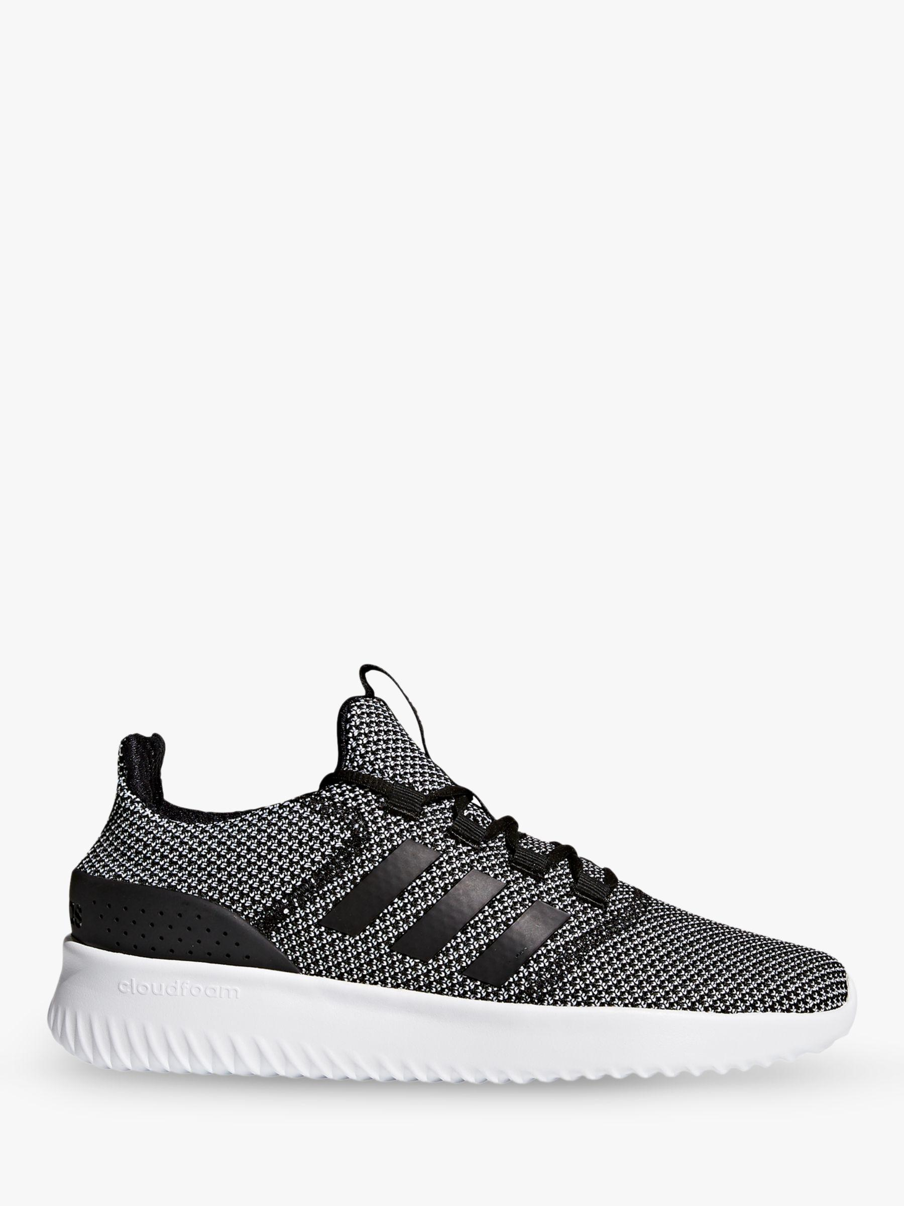 adidas Cloudfoam Ultimate Men s Trainers in Black for Men - Lyst 6edbd14ac