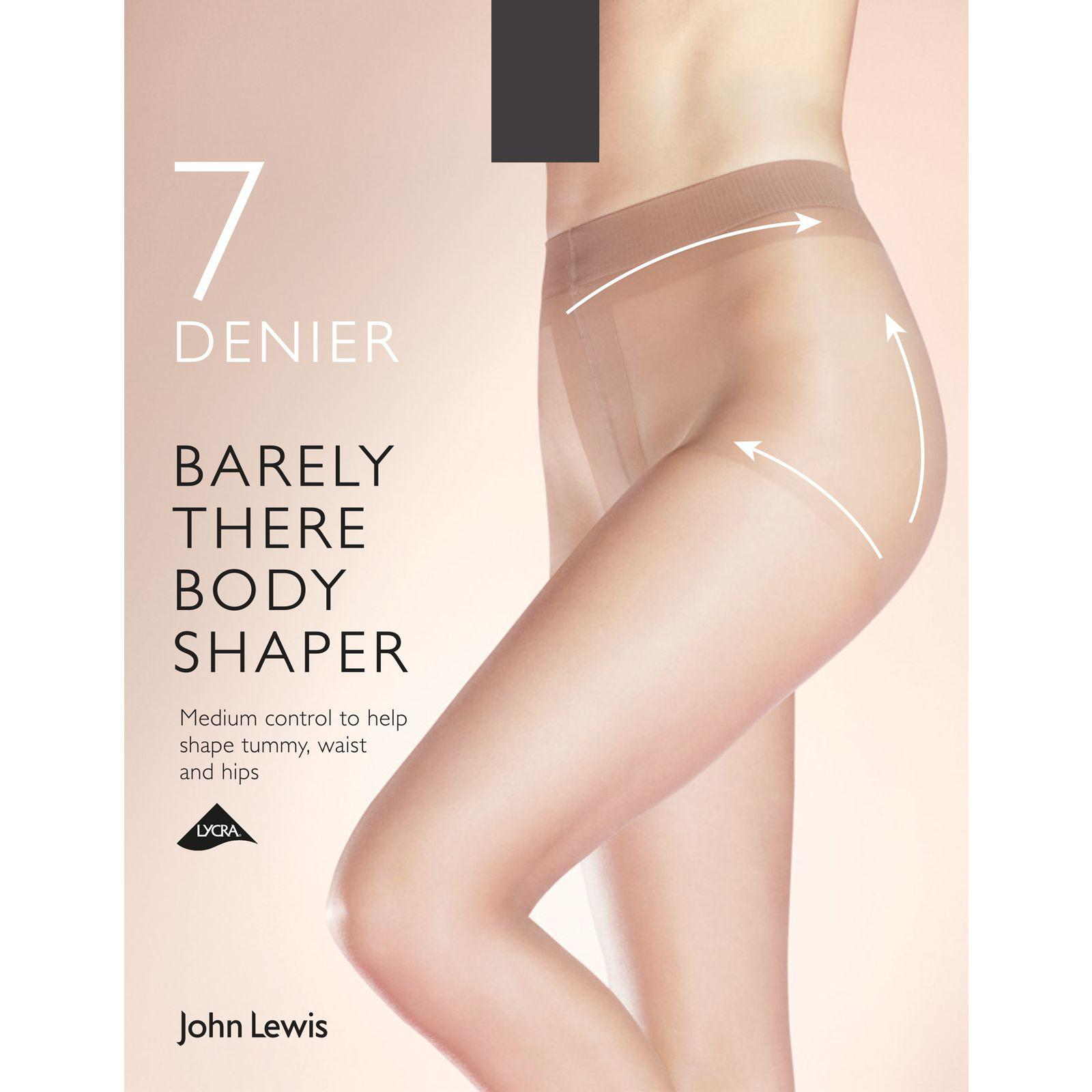 2525244d3a John Lewis 7 Denier Barely There Shaper Tights - Lyst