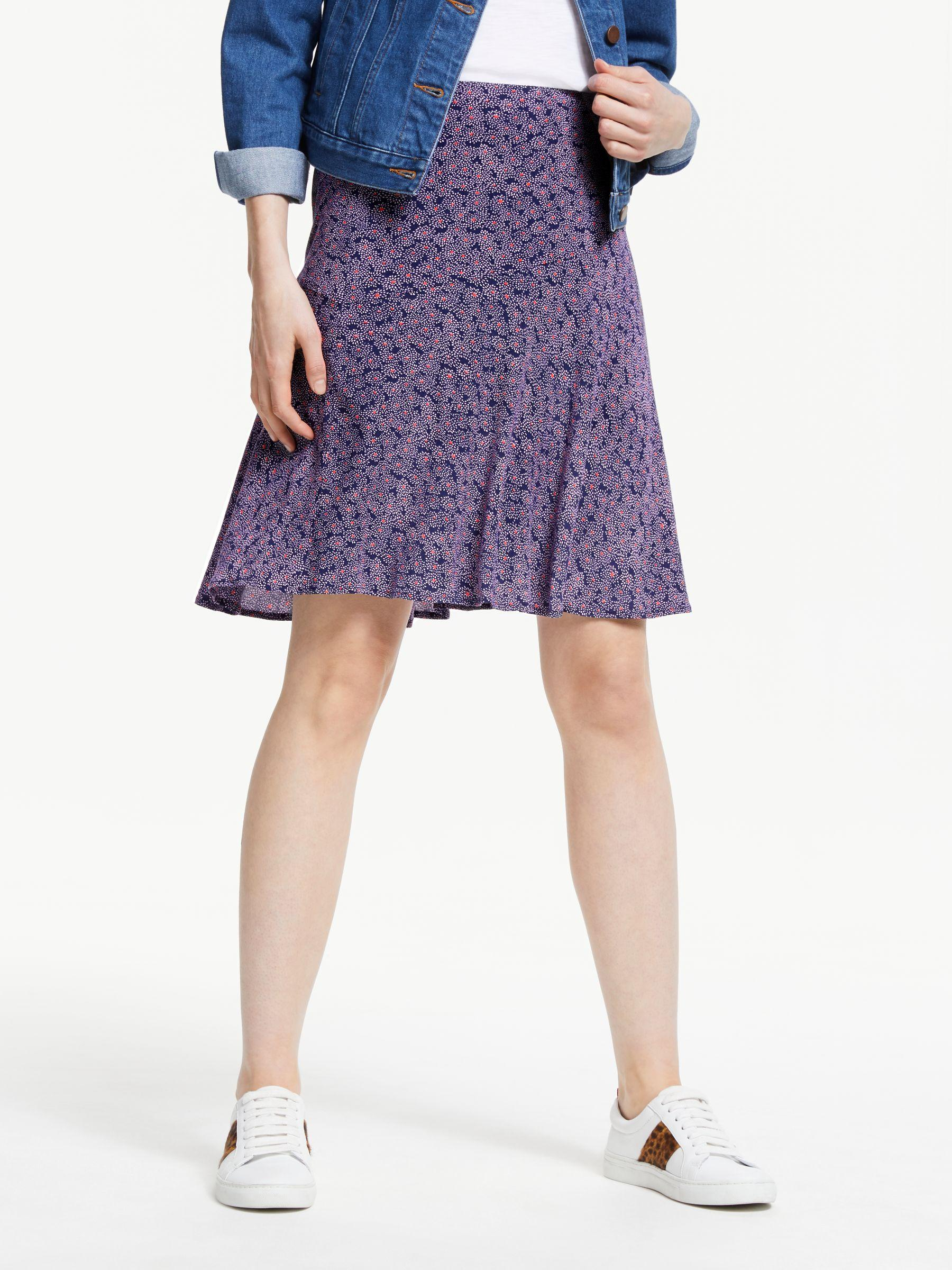 c46f60652 Boden. Women's Blue Virginia Print Skirt. £55 From John Lewis and Partners