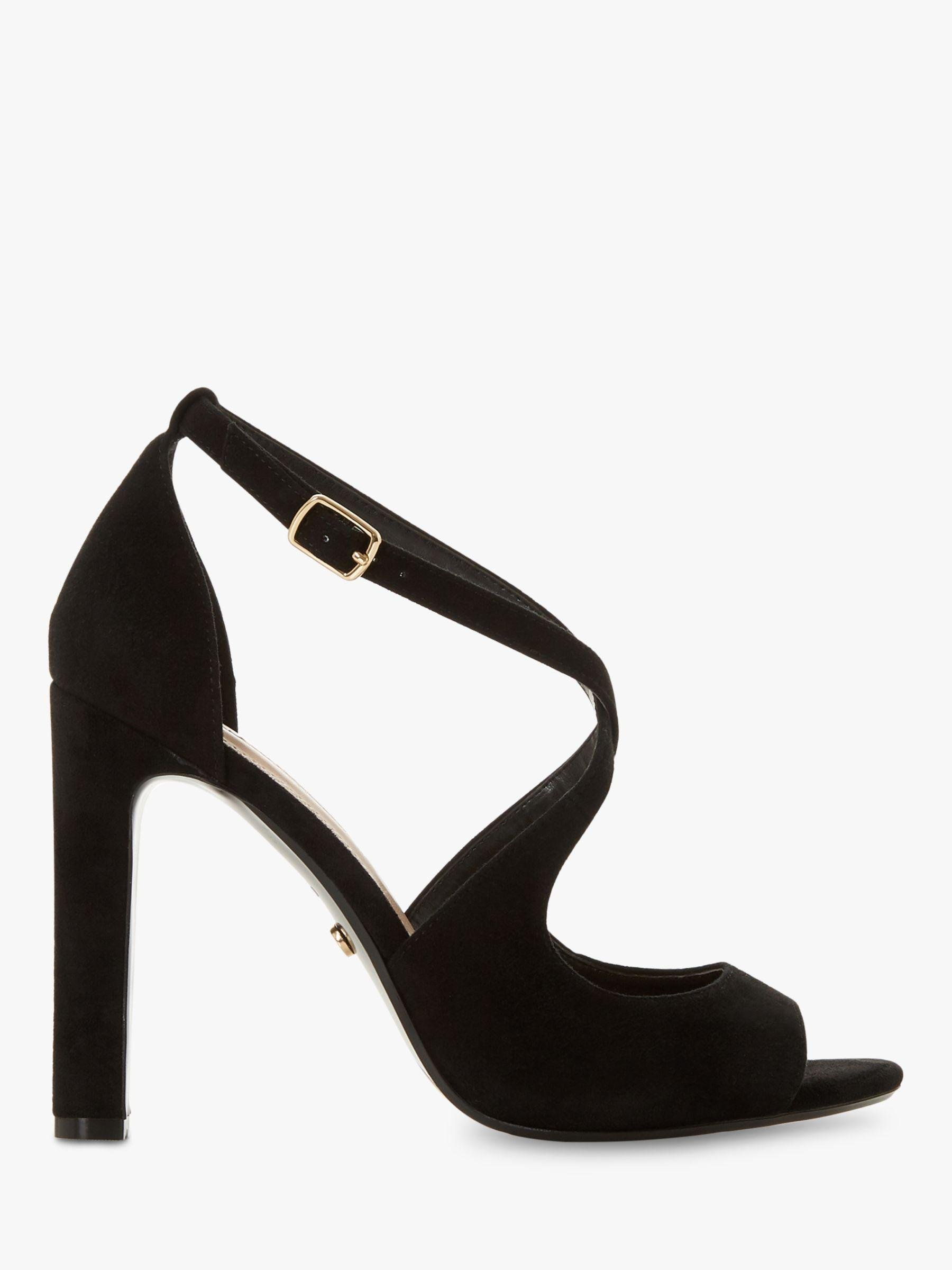 de2c42d5df8a Dune Mistey Block Heeled Sandals in Black - Lyst