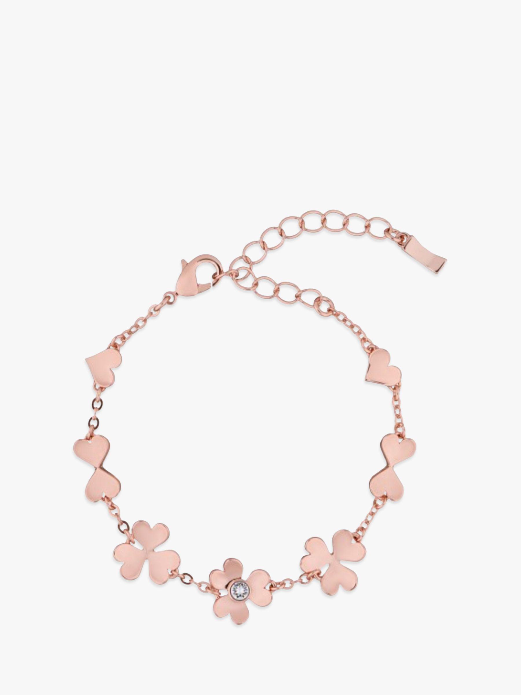 69f84badb2fc Ted Baker. Women s Metallic Hanaya Heart Blossom Chain Bracelet. £49 From John  Lewis and Partners