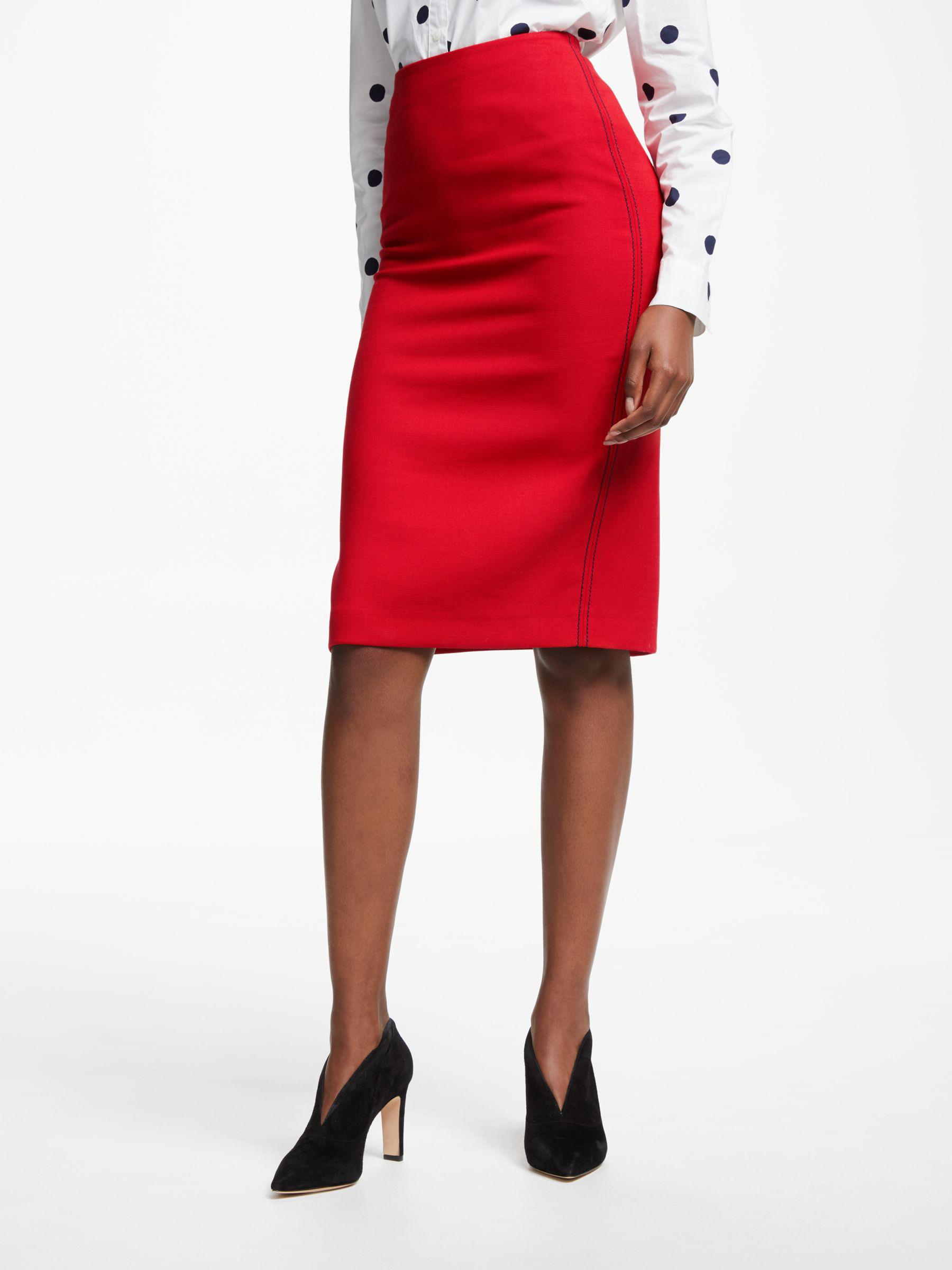 64e84c816 Boden Winsford Pencil Skirt in Red - Lyst