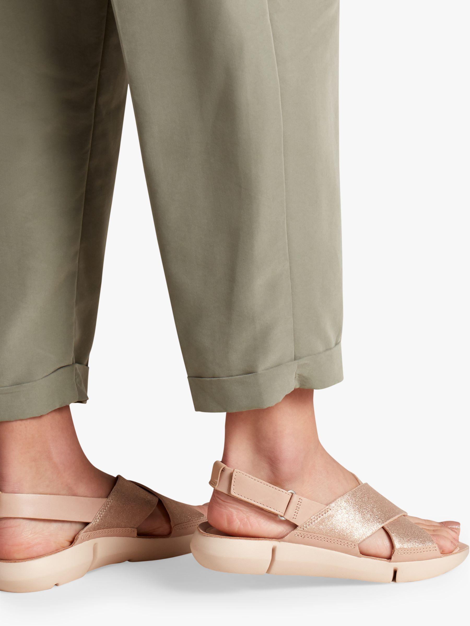 f6a86df0c38 Clarks Tri Chloe Cross Strap Sandals - Lyst