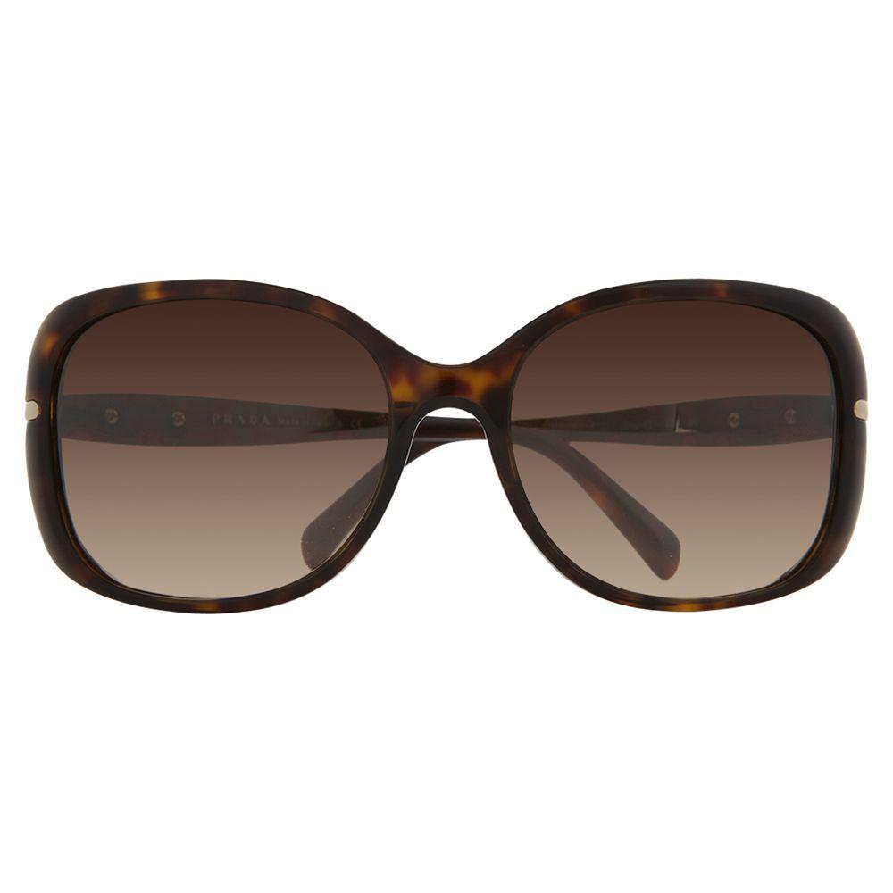 c6cbc814883f Prada Pr08os Oversized Square Framed Sunglasses in Metallic - Lyst