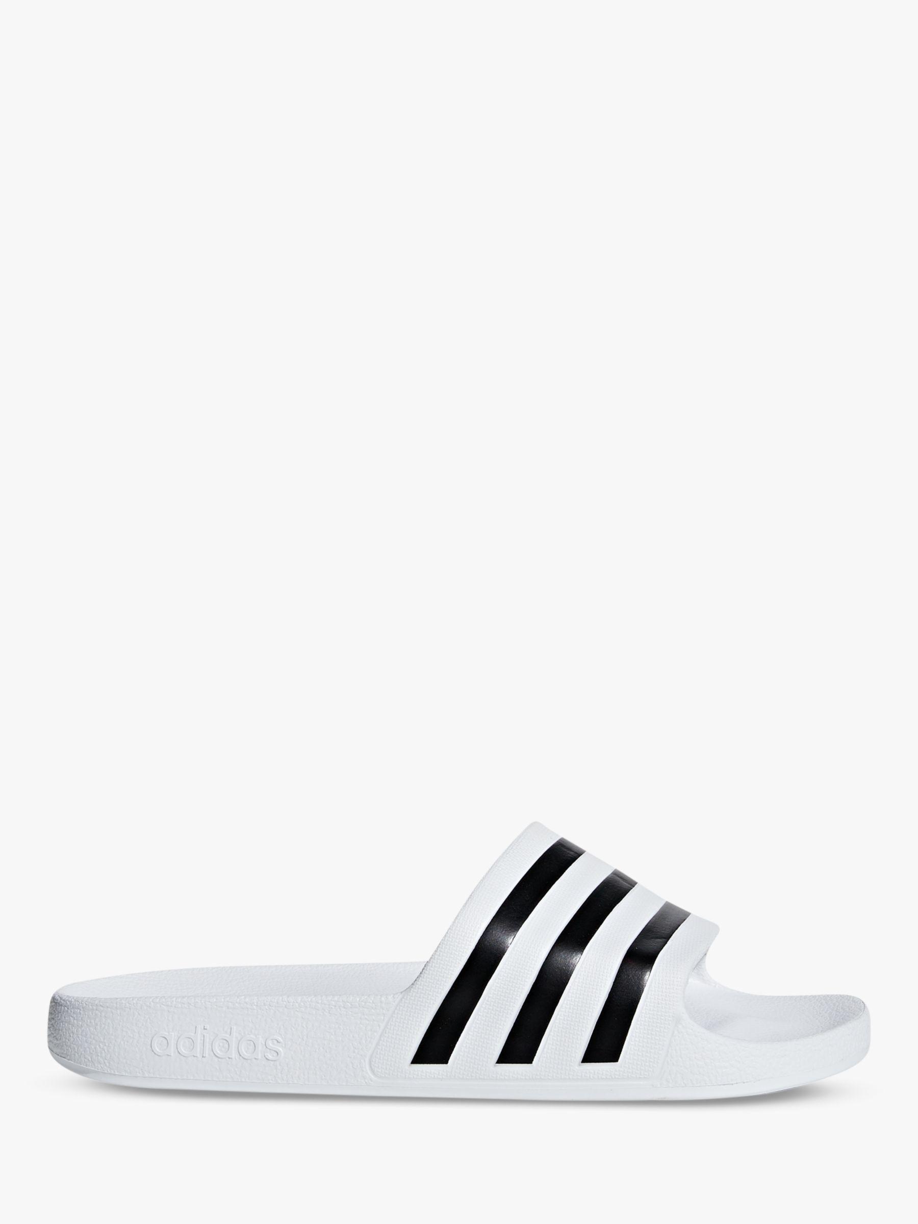 wholesale dealer f90f6 cf84f Adidas - Black Adilette Aqua Women s Slides Slippers - Lyst. View fullscreen