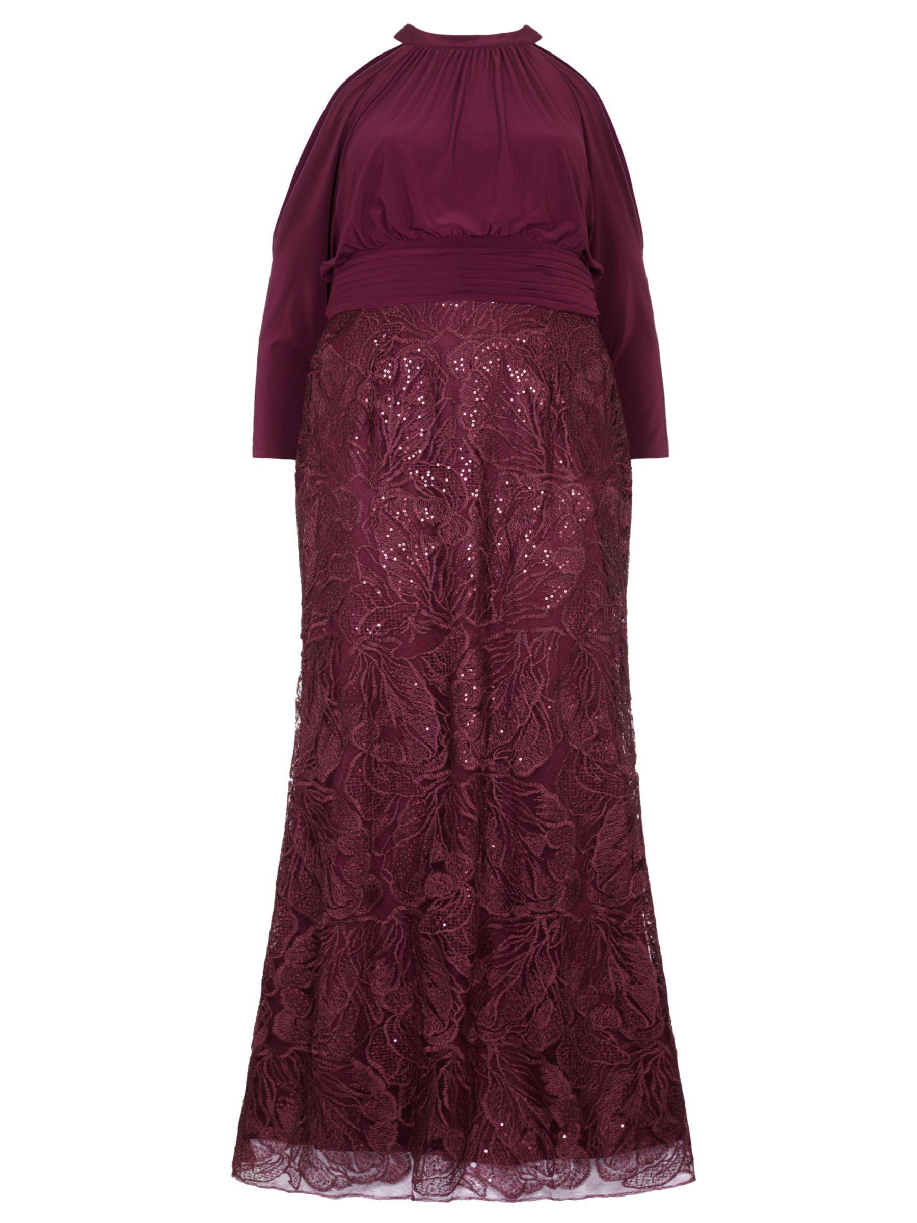 Lyst Adrianna Papell Plus Size Long Sequin Blouson Dress