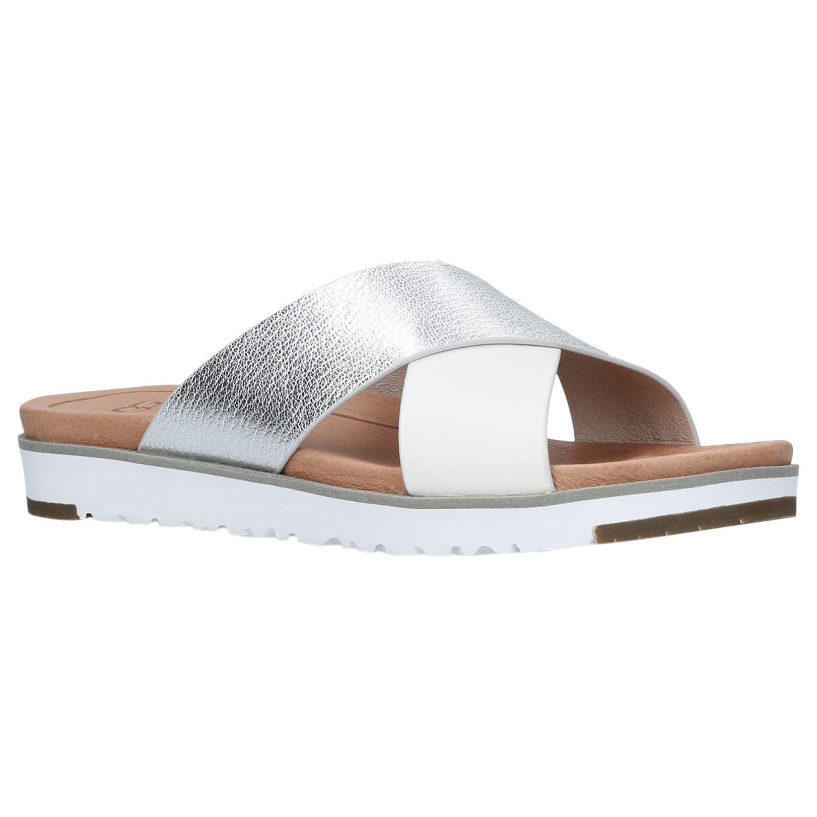 ca3dd08c53b7 UGG Kari Cross Strap Sandals - Lyst