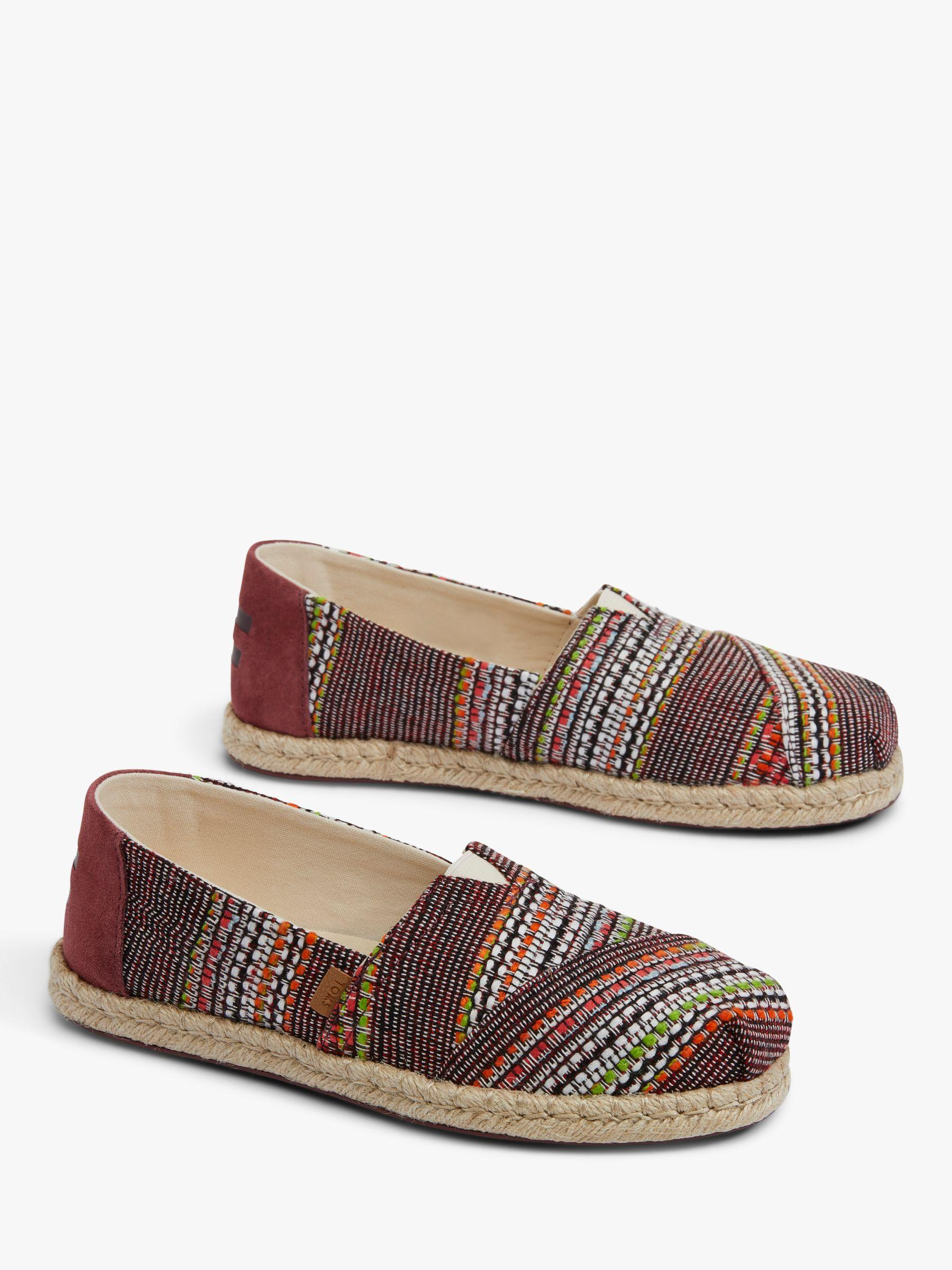 2d631b4b3eb TOMS Alpargata Embroidered Espadrilles in Brown - Lyst