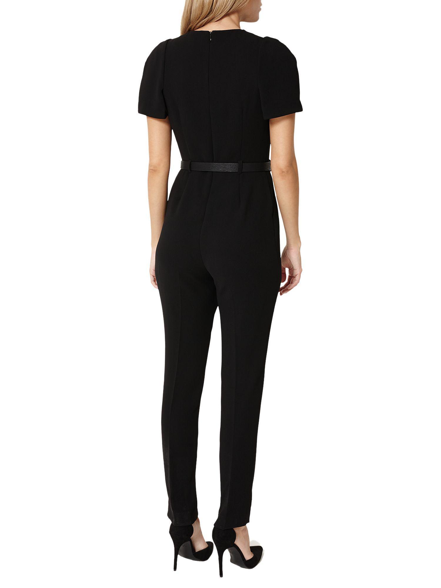 317ceaed5a John Lewis Damsel In A Dress City Suit Jumpsuit in Black - Lyst