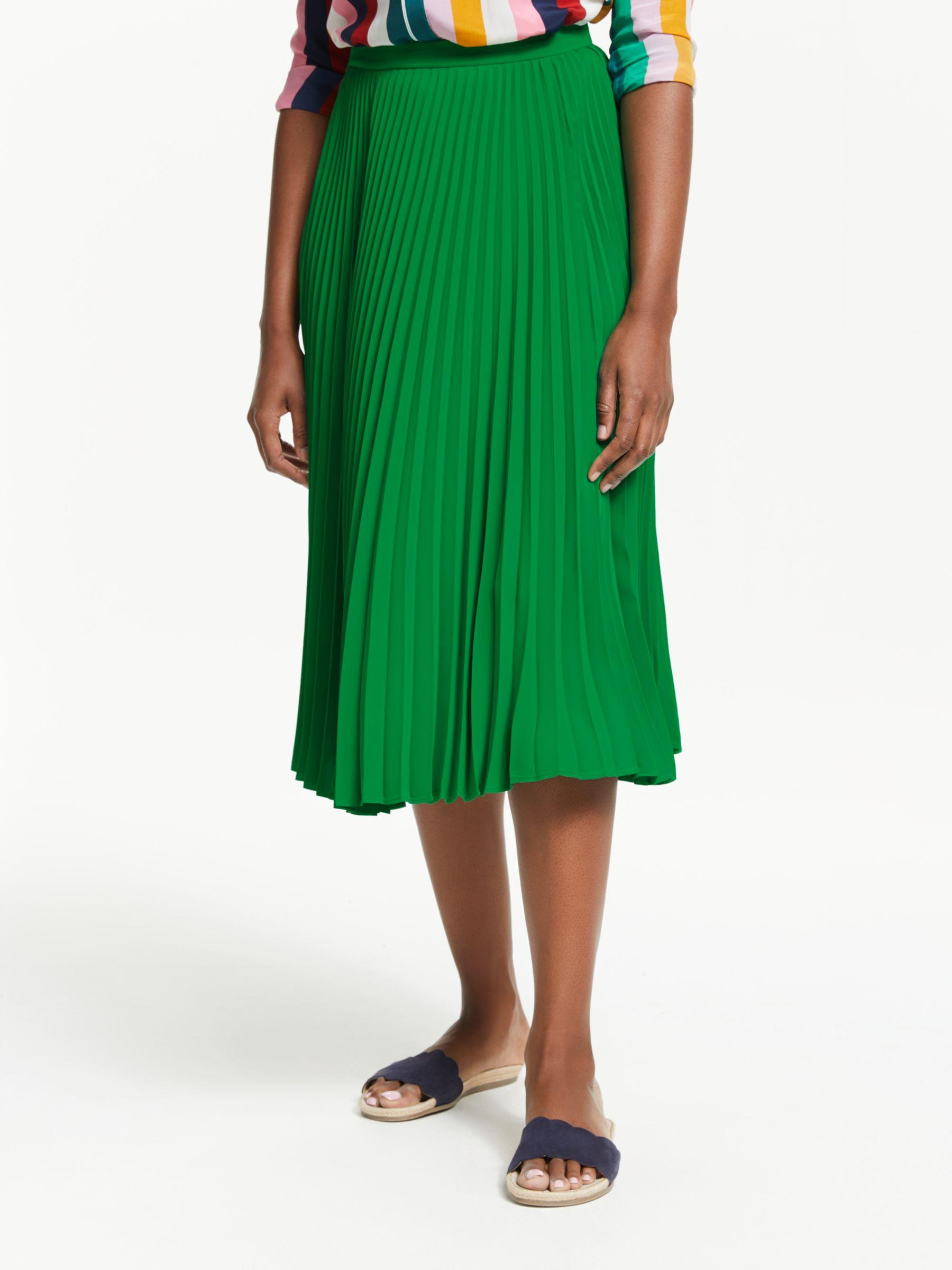 8ac3a0fee Boden. Women's Green Kristen Pleated Skirt. £110 From John Lewis and  Partners