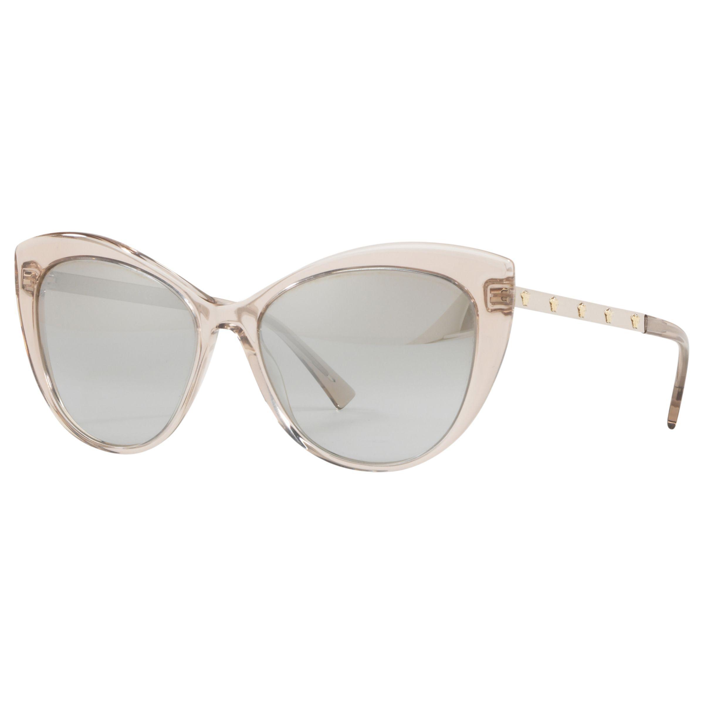 f6894f5faf Versace Ve4348 Cat s Eye Sunglasses in Metallic - Lyst
