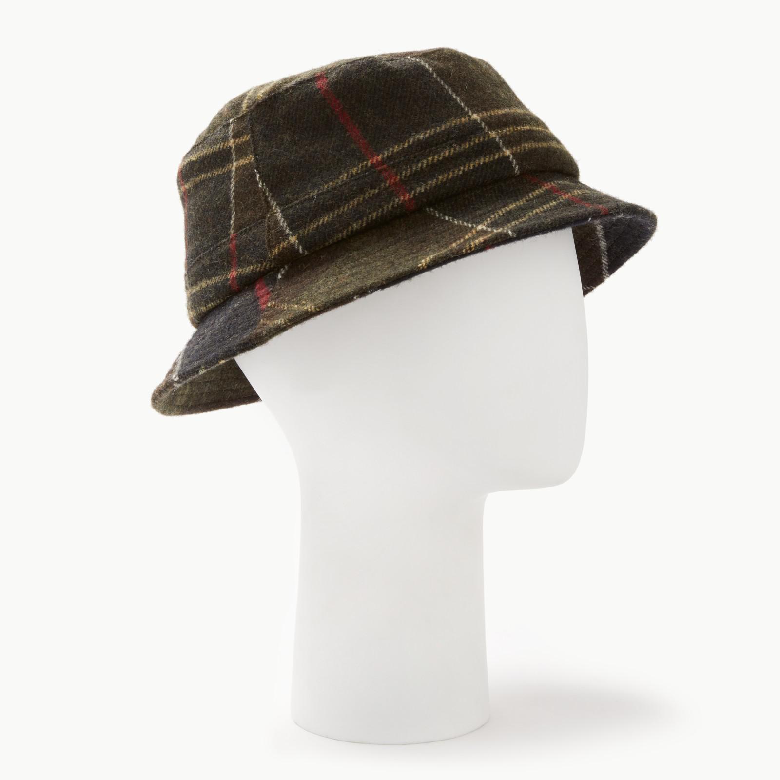 33242e109fda1 Barbour Galloway Tartan Bucket Hat in Green - Lyst