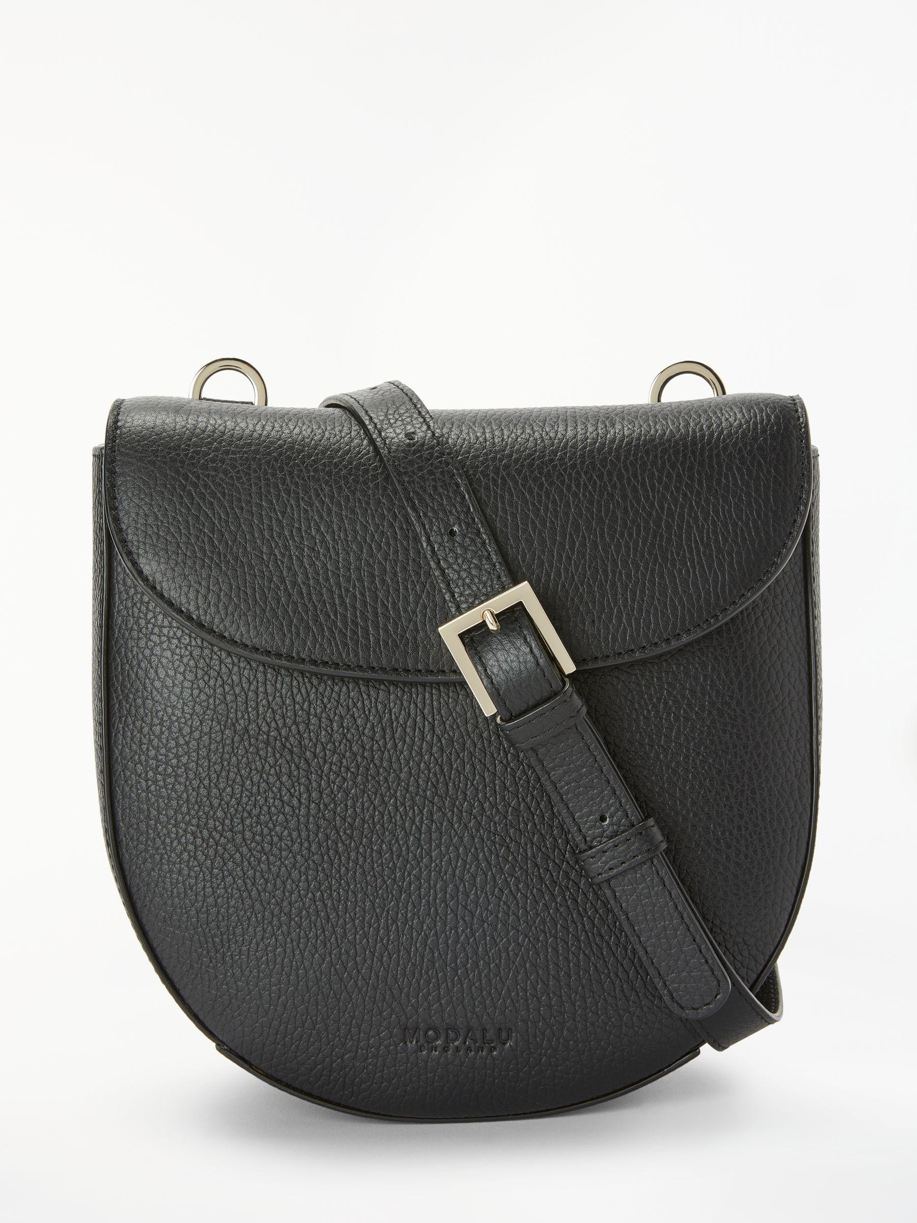 527e5956efc6 Modalu - Black Sofia Leather Cross Body Bag - Lyst. View fullscreen